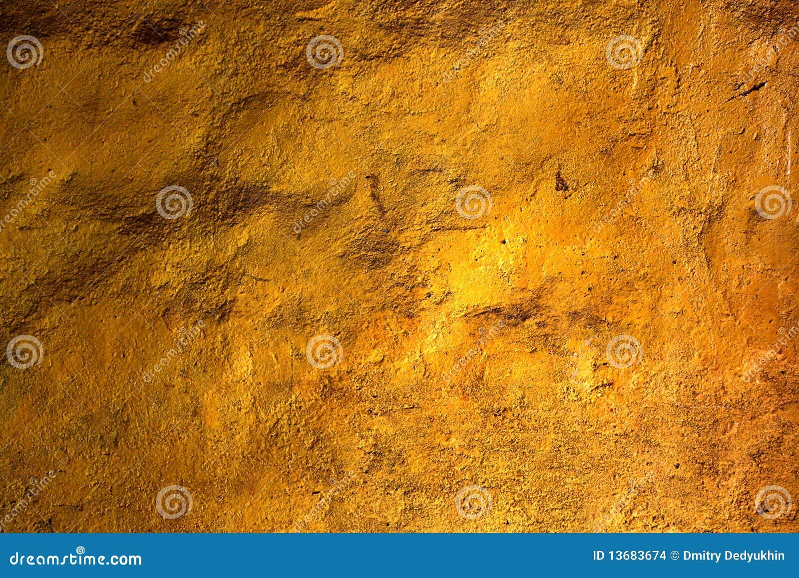 Guldtexturvägg