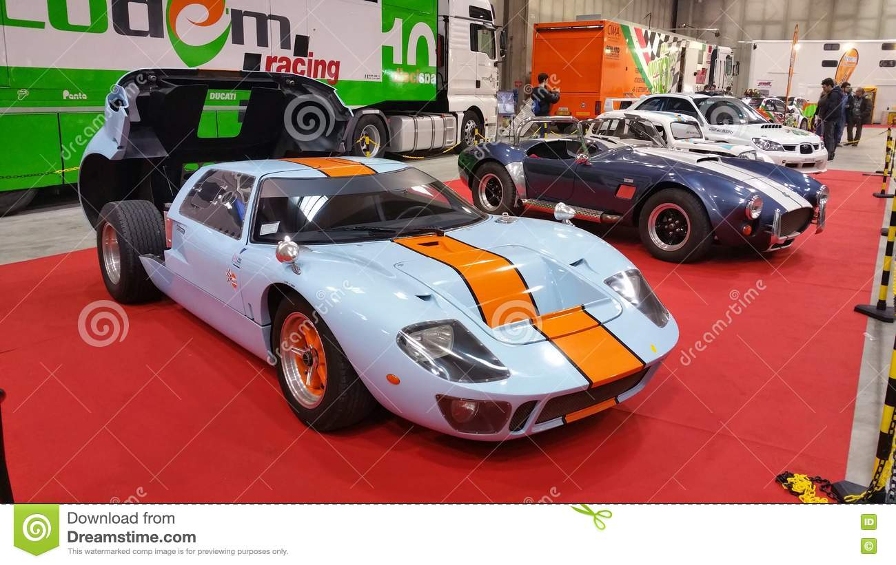 Gulf Ford Gt  In Exibition Open Back