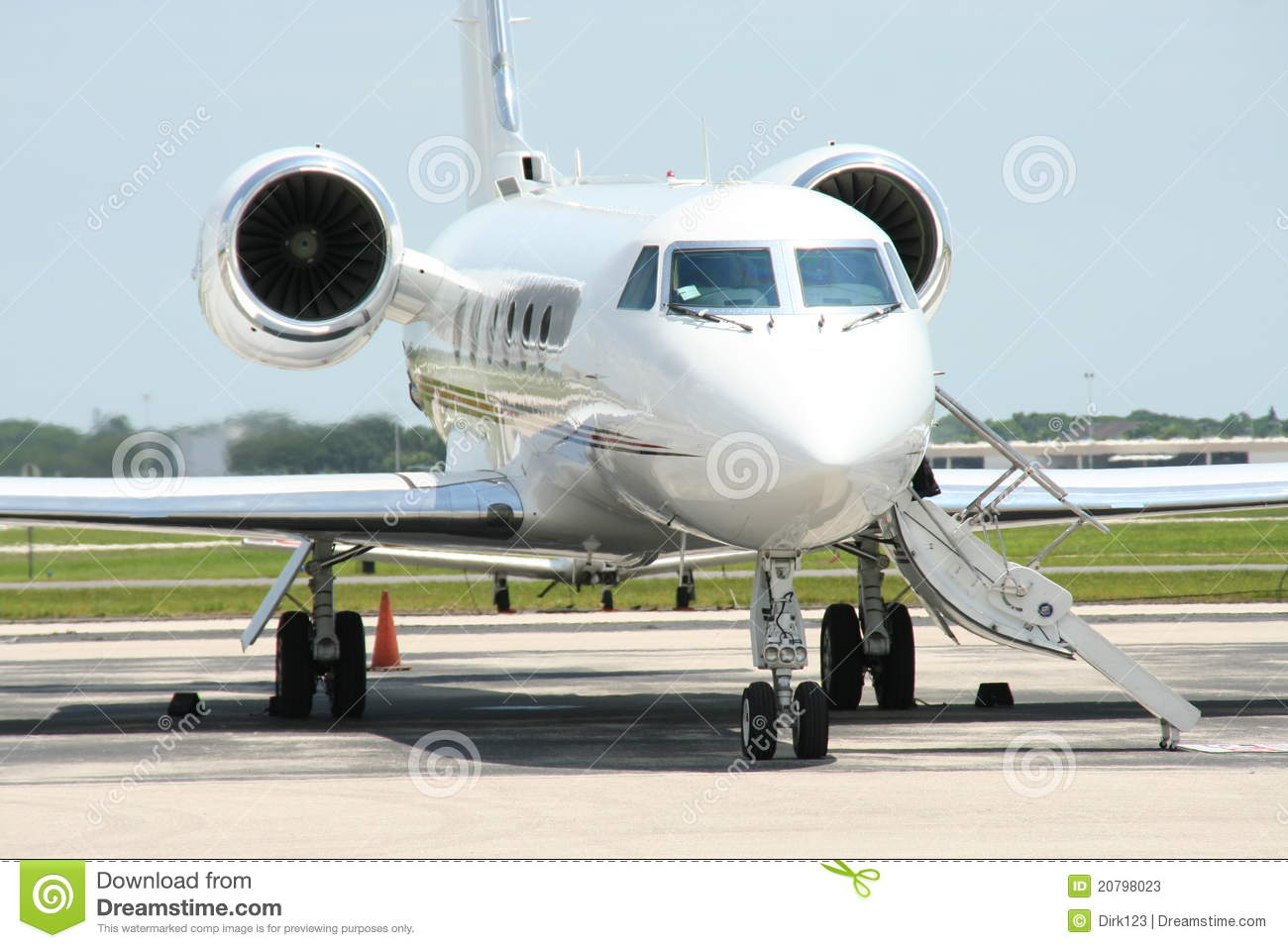 Gulfstream IV Private Jet Stock Photos  Image 20798023