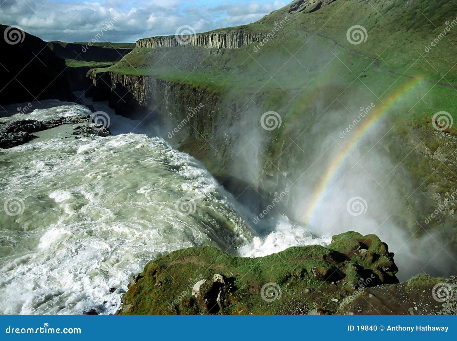 Gullfoss冰岛