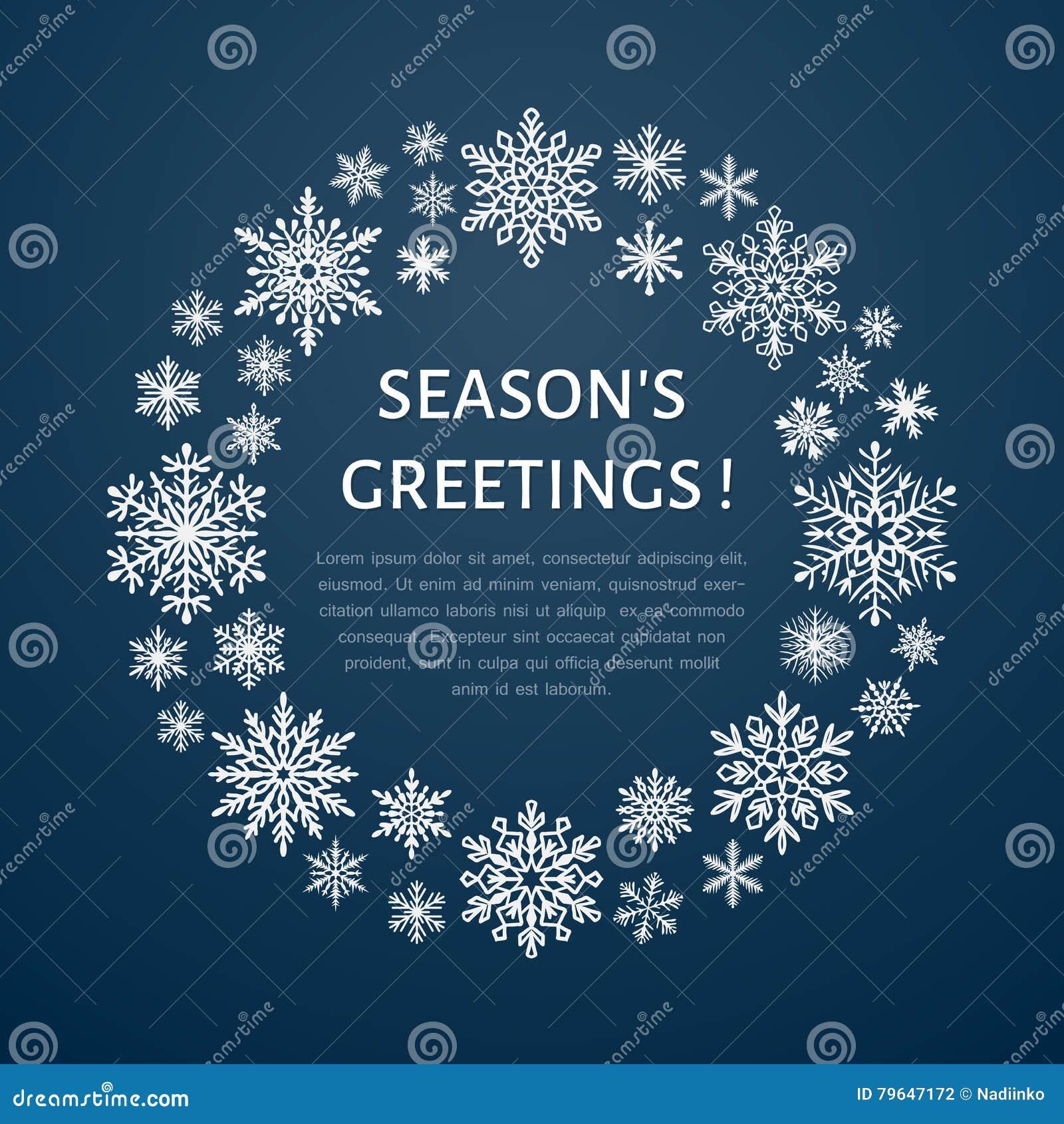 Gullig snöflingaaffisch, baner ferie för hälsningar för julsammansättning smyckar kall grön säsonger för fotopresentsred Plana sn