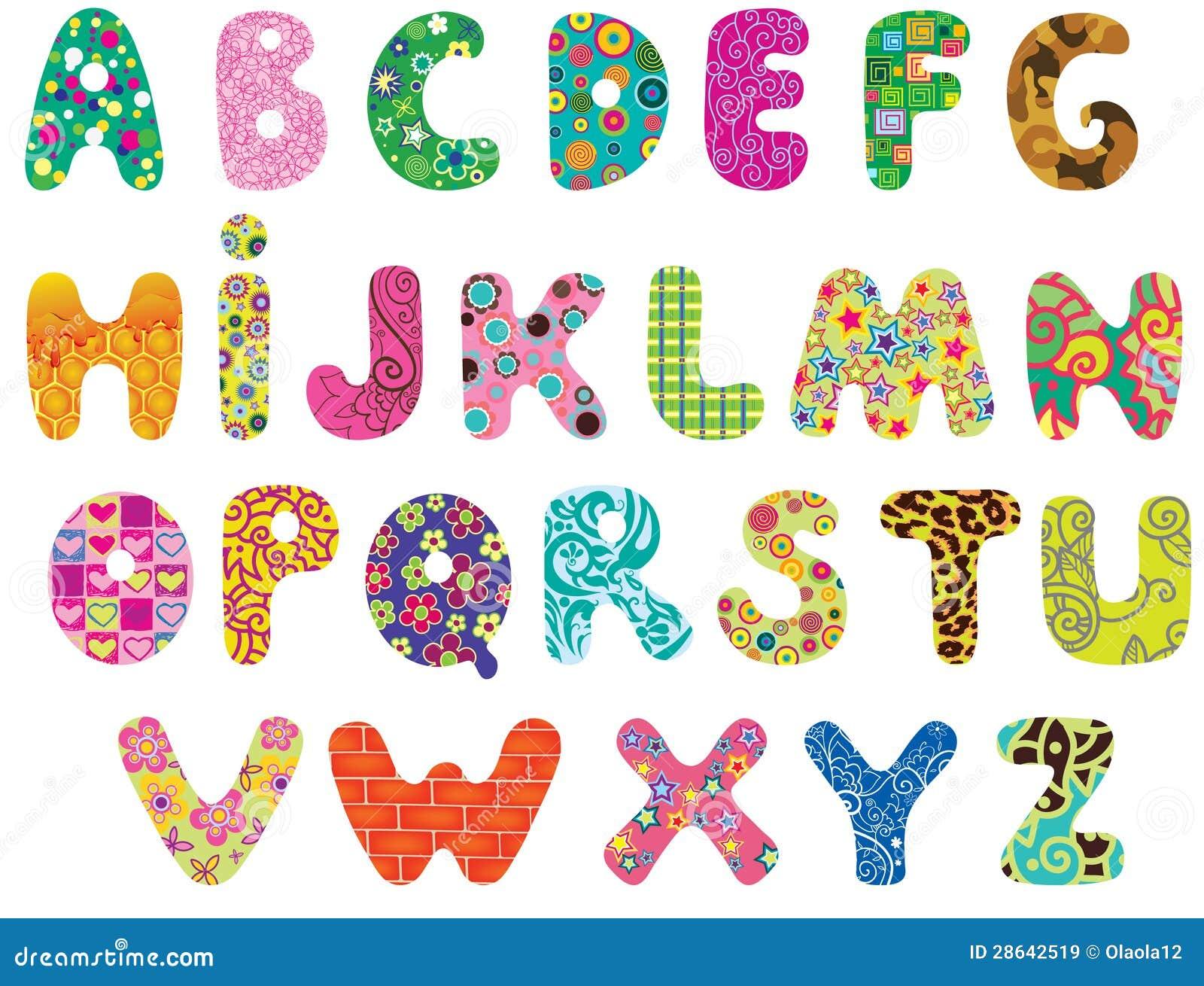 Gulligt alfabet