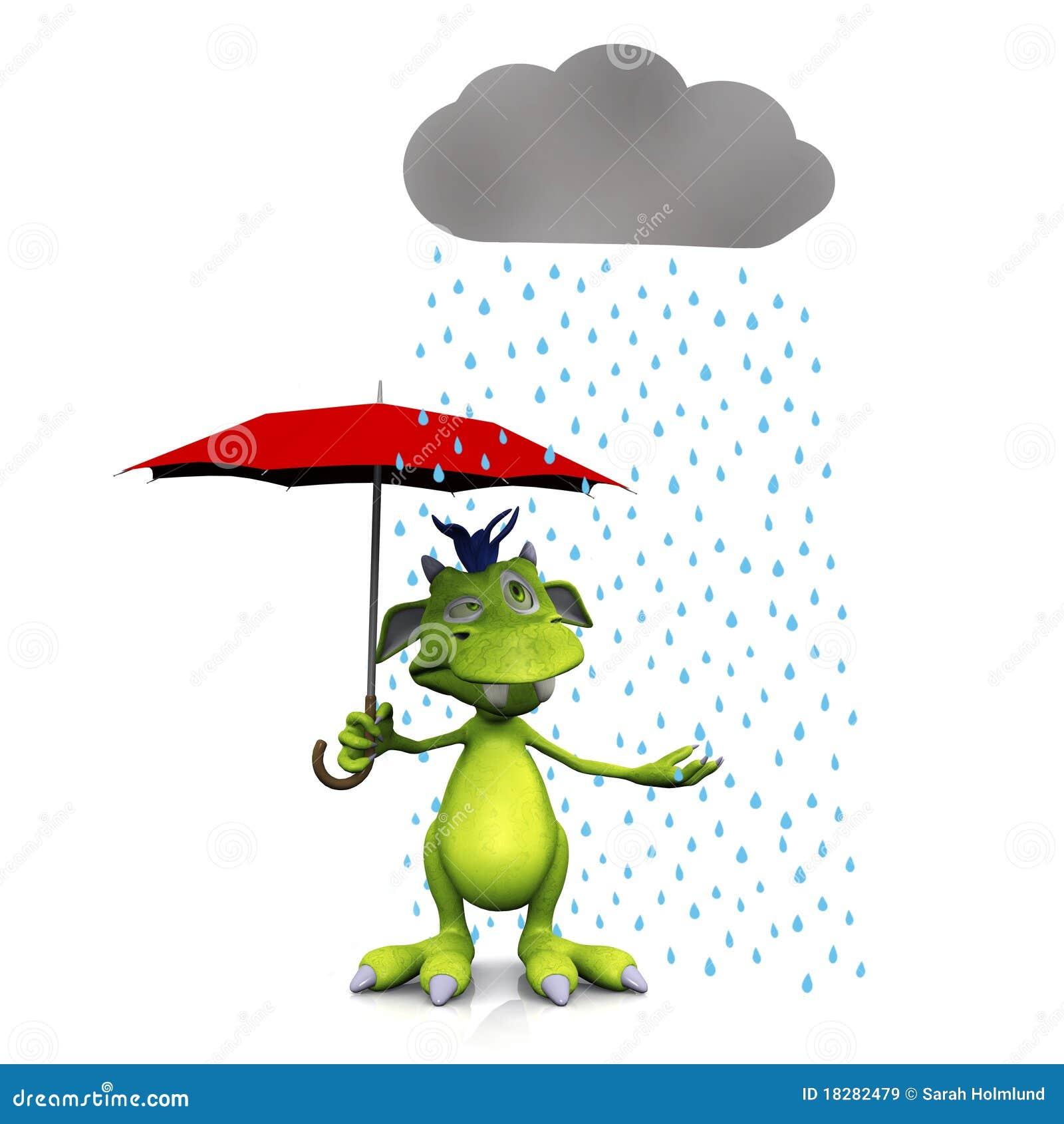 regn och paraply