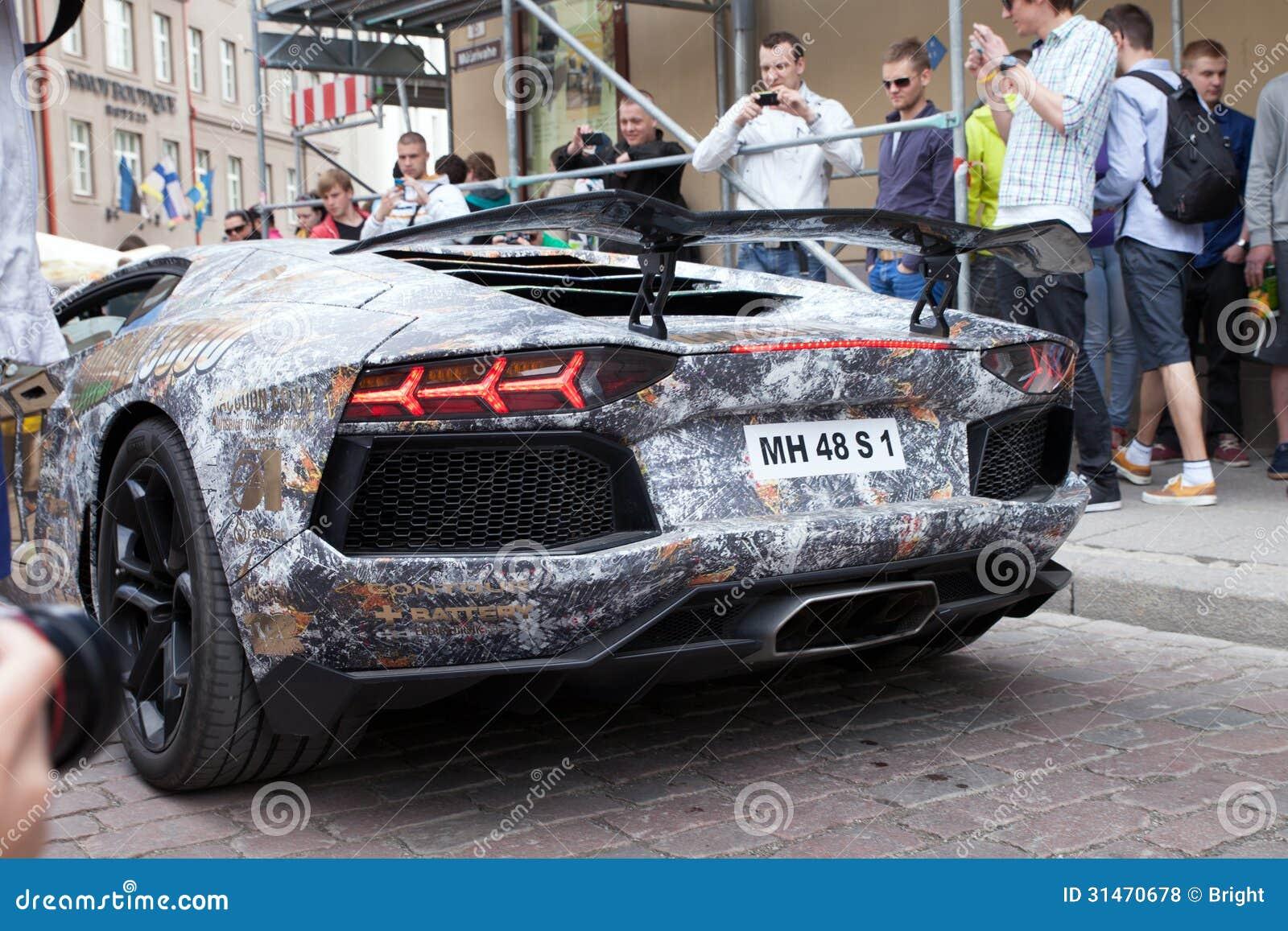 Gumball 3000 Car Editorial Stock Photo Image 31470678