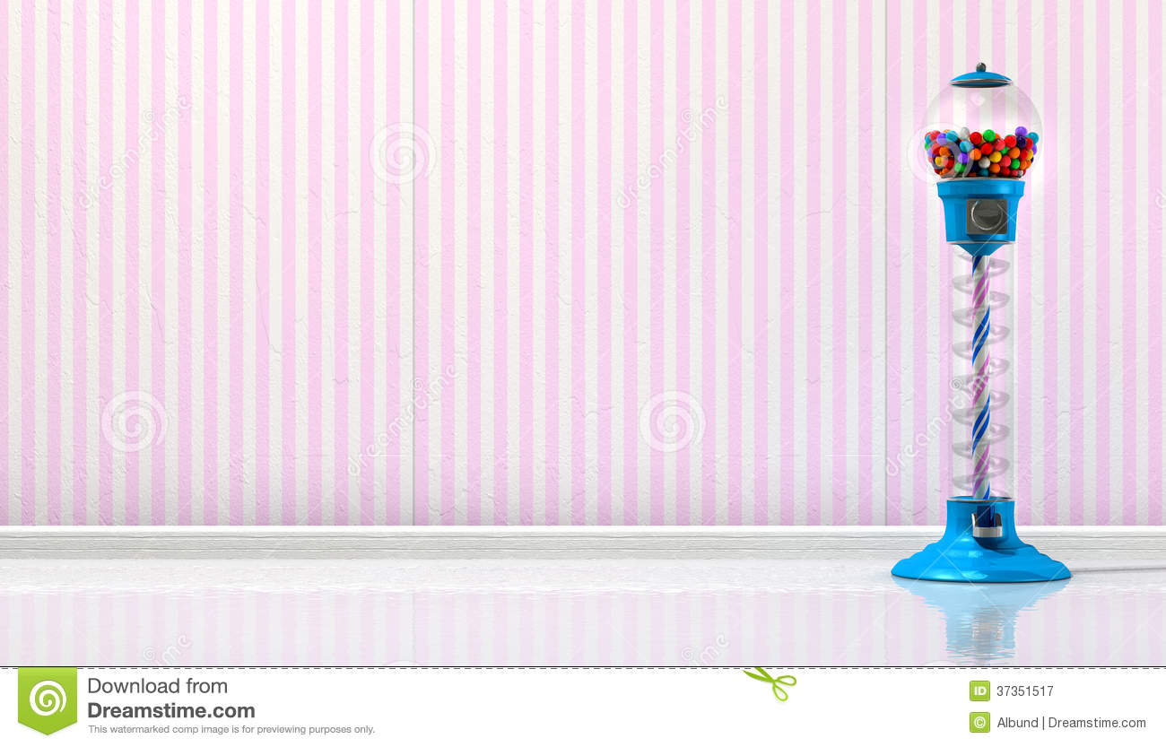 Gumball Machine In A Candy Store Stock Image Image Of Colors