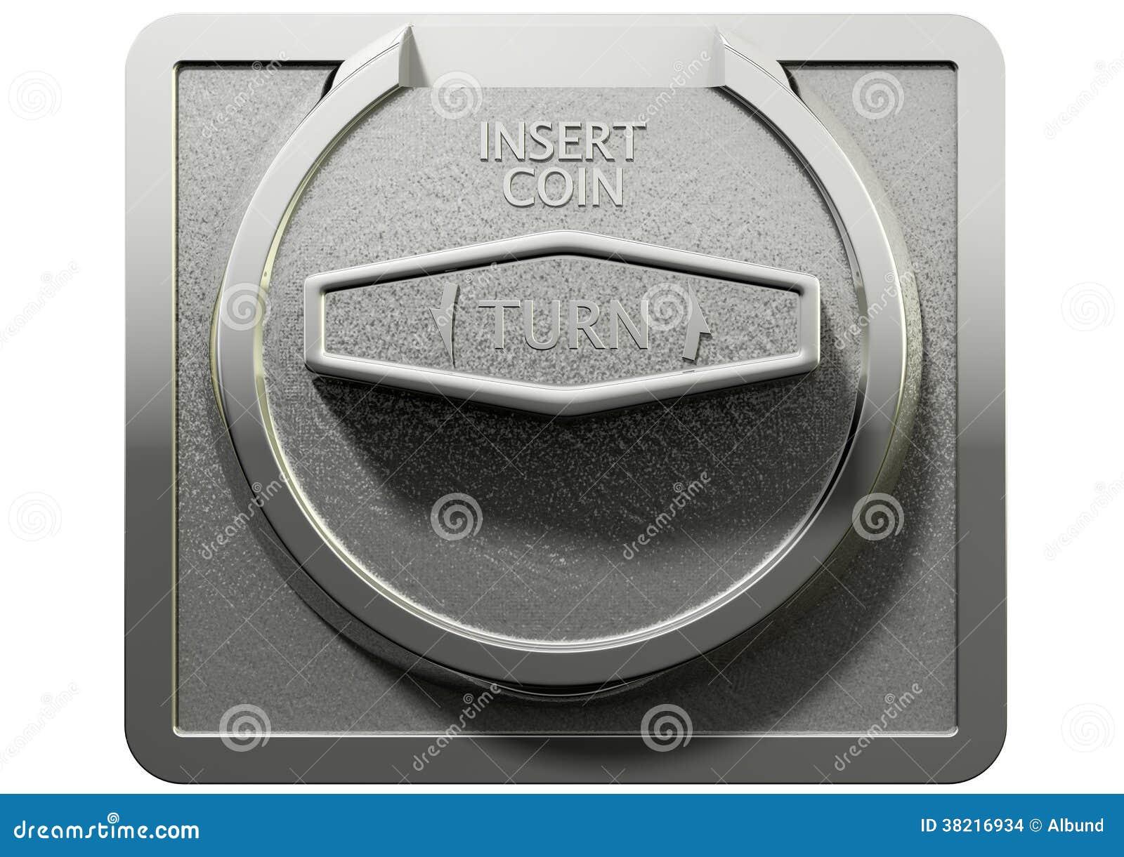 Gumball Machine Coin Mechanism Stock Photo Image Of