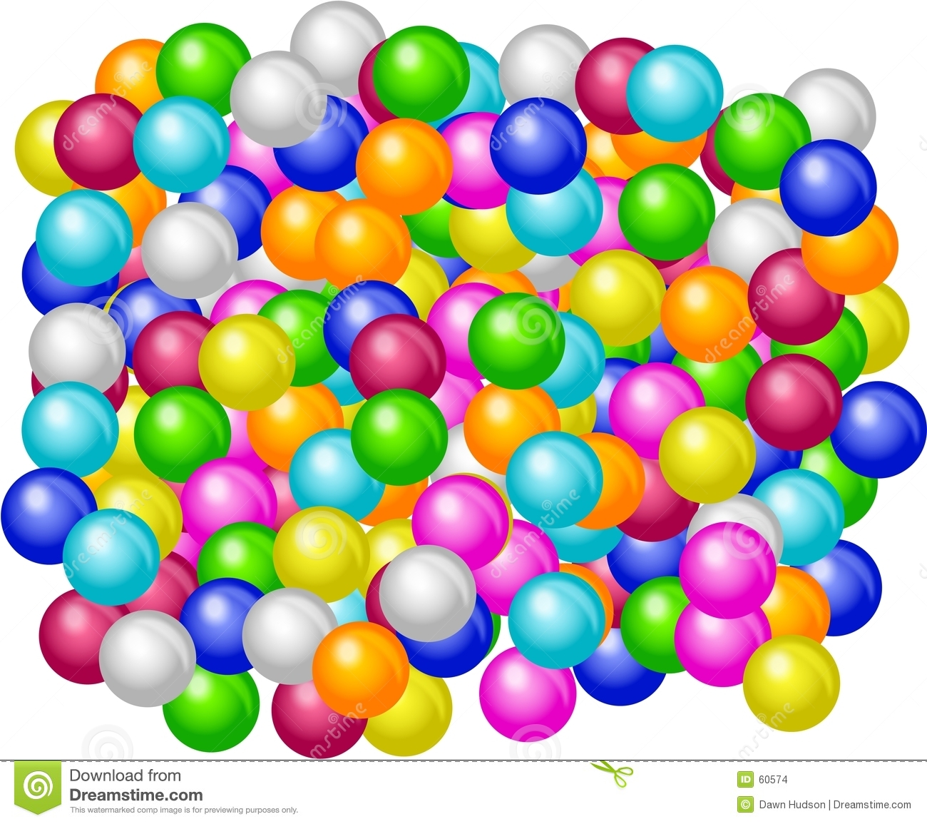 Download Gumballs illustration stock. Illustration du confiserie - 60574