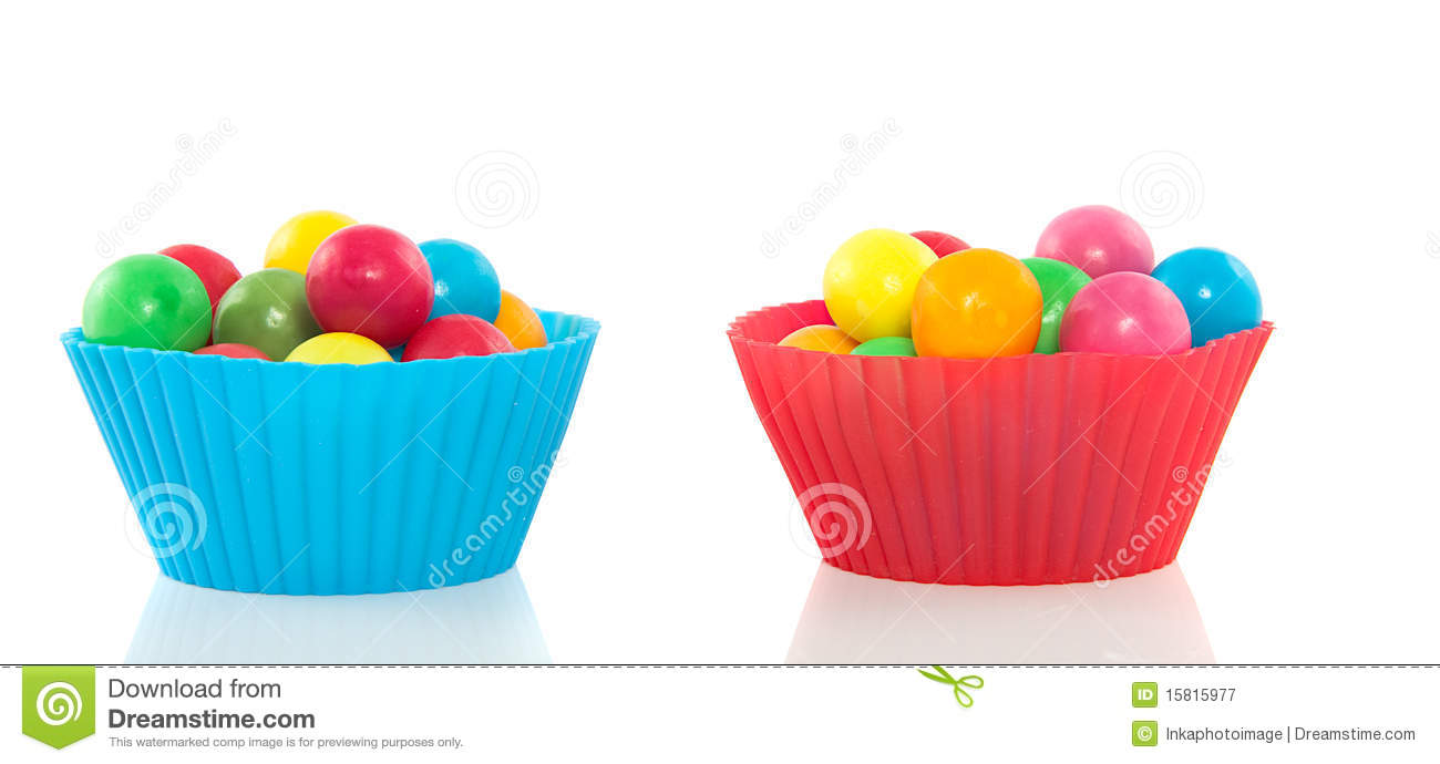 Gumballs doces coloridos