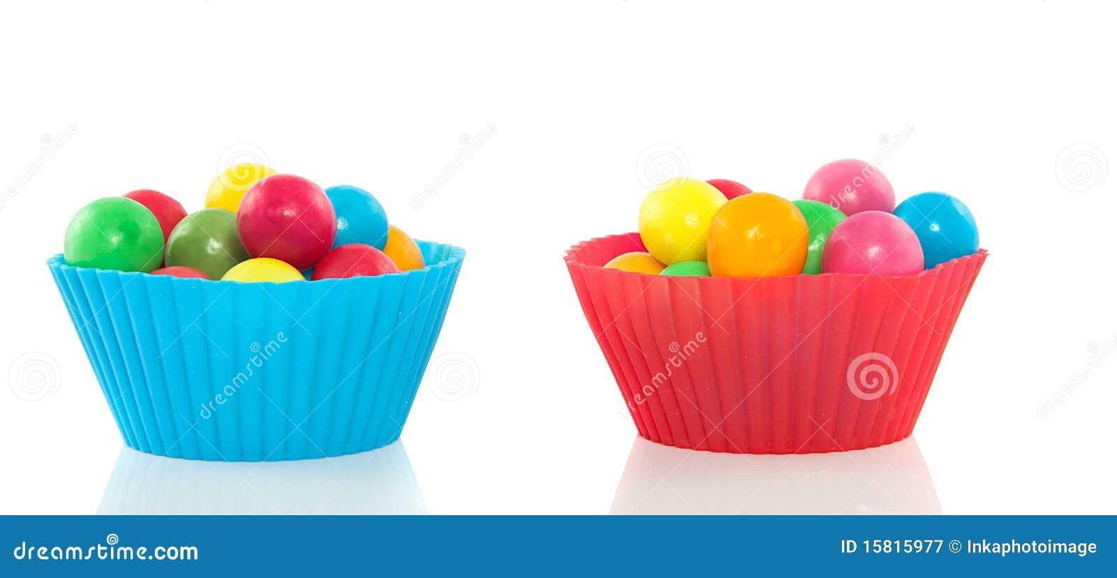 Gumballs dulces coloridos