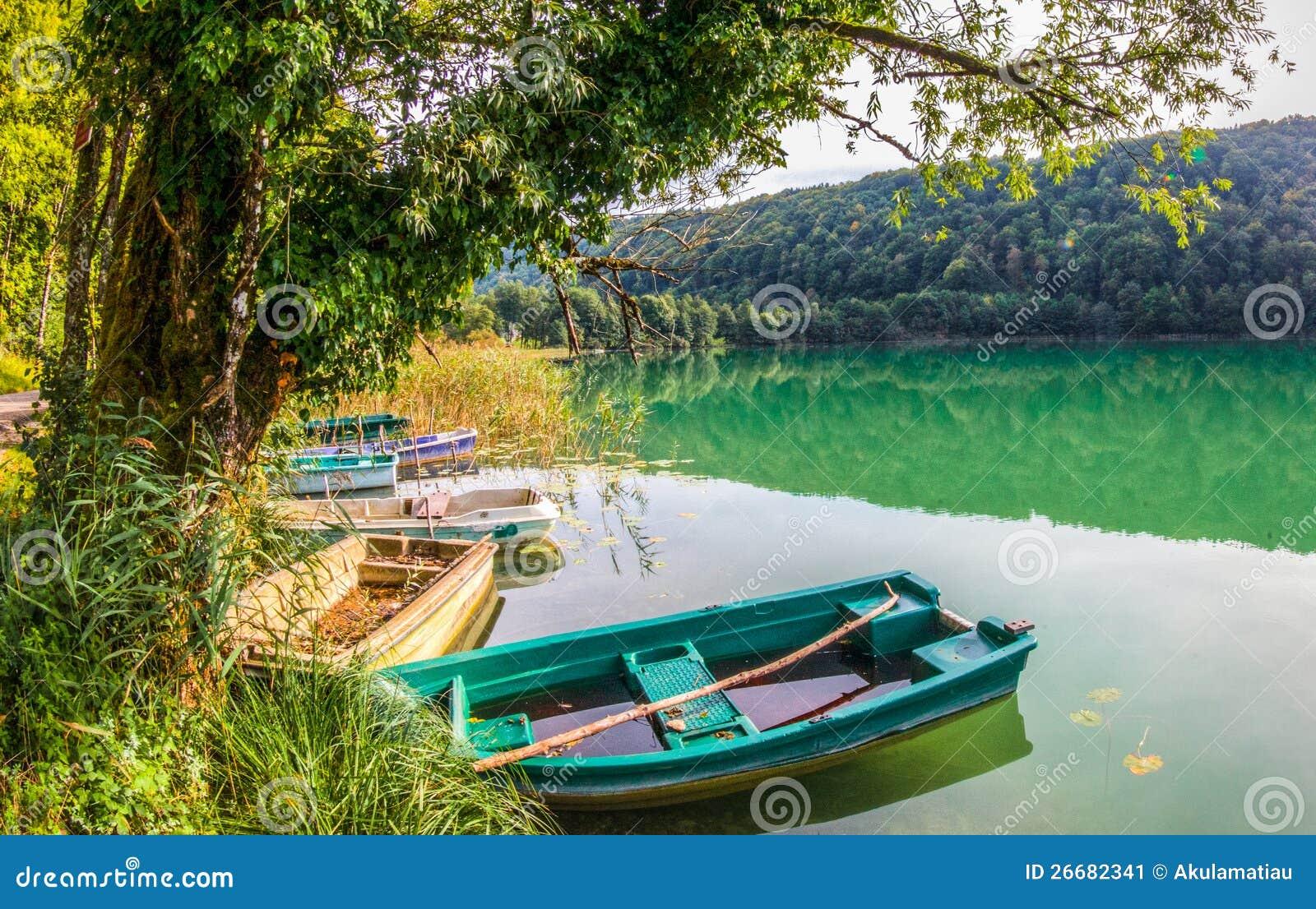 Gummilacka Du Val Jura Frankrike Fartyg Fotografering For Bildbyraer Bild Av Green Transport 26682341