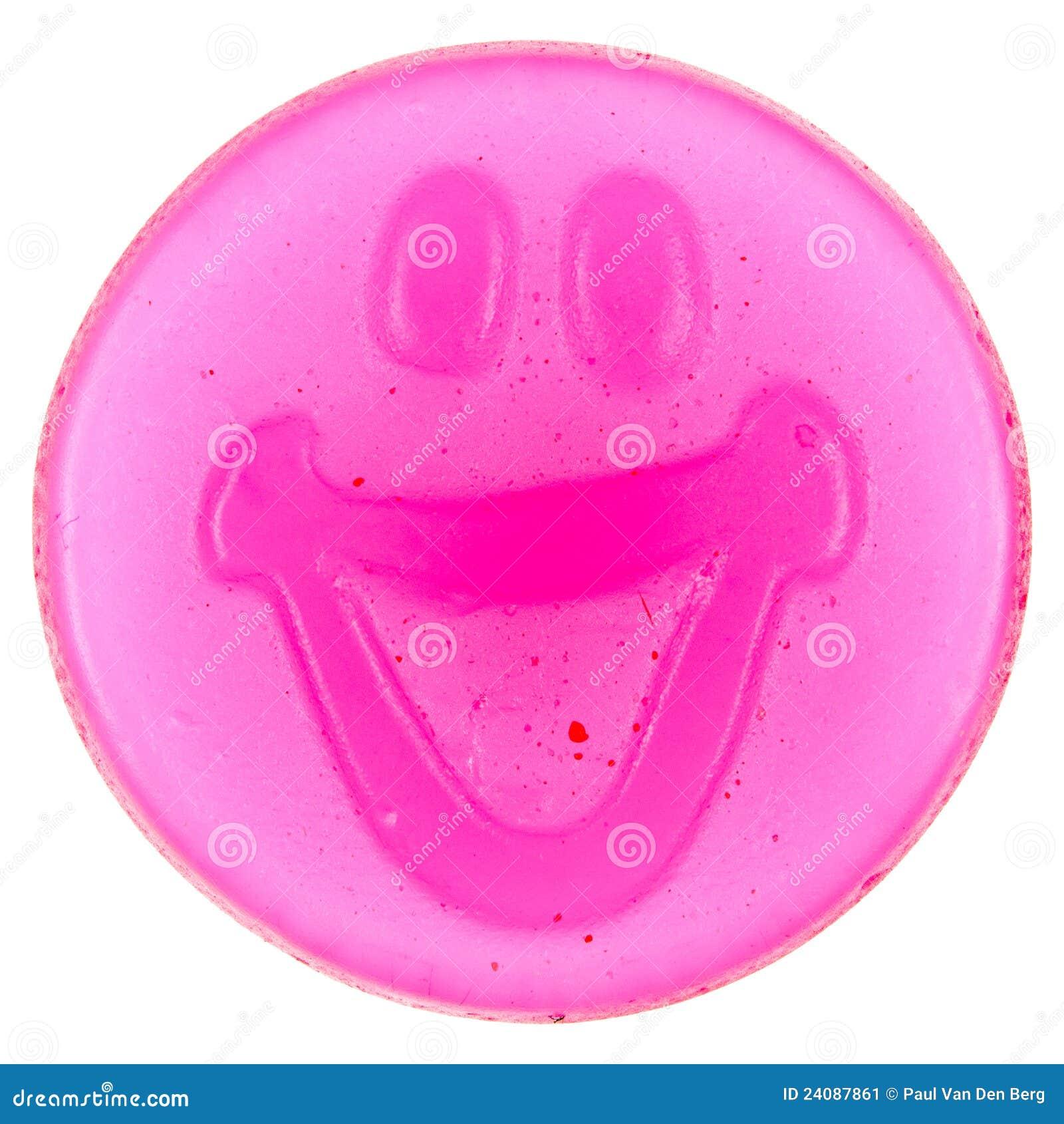 Gumowaty cukierku smiley