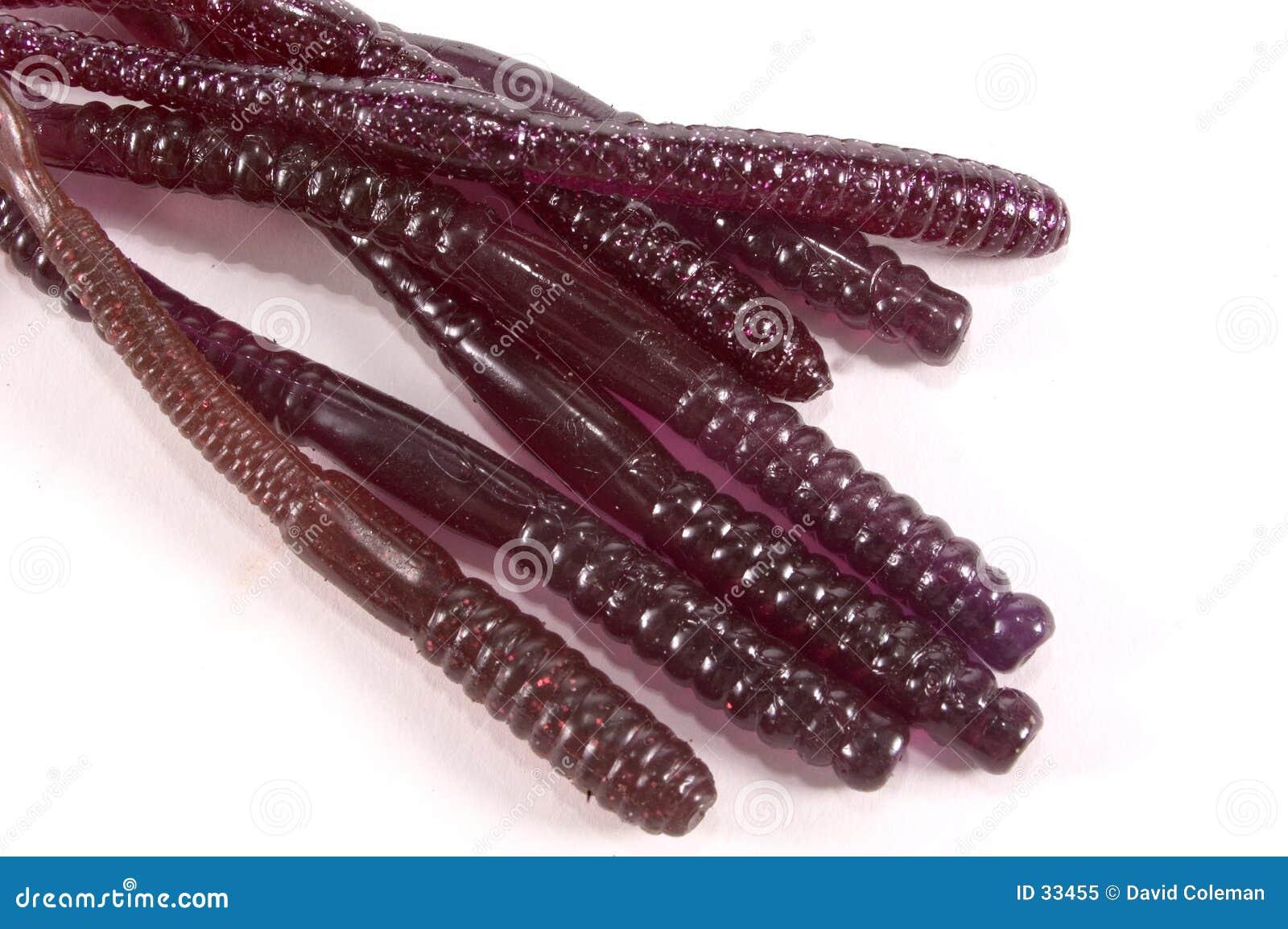 Download Gumowe robaki obraz stock. Obraz złożonej z sporty, guma - 33455