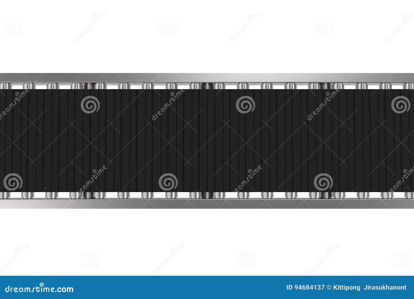 Gumowy konwejeru pasek odizolowywający na bielu