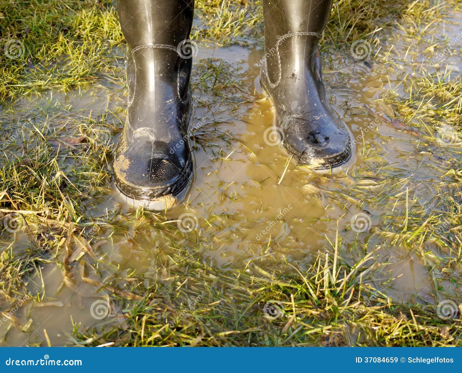Download Gumowy but w trawie obraz stock. Obraz złożonej z tło - 37084659