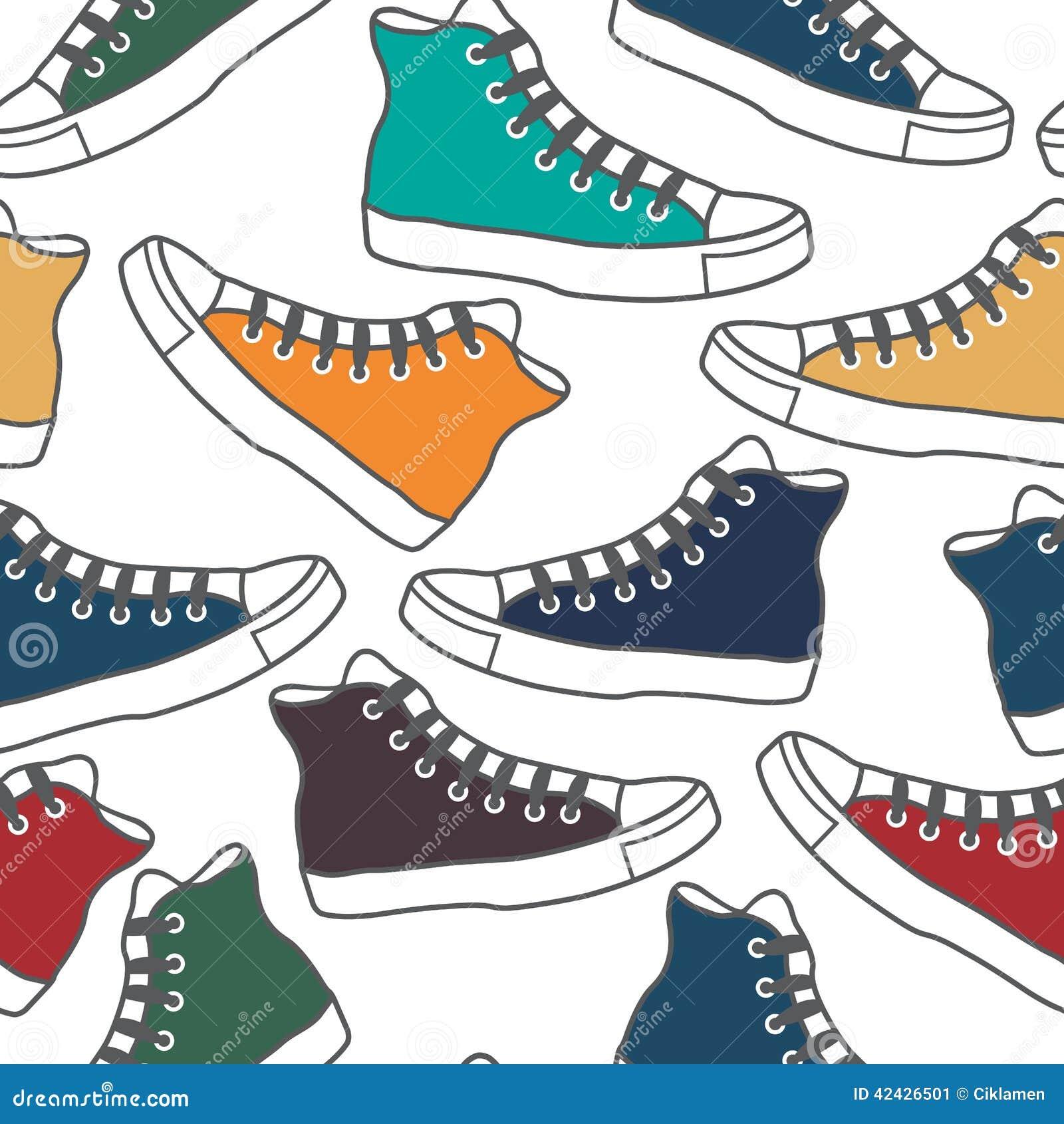 Gumshoes coloreados
