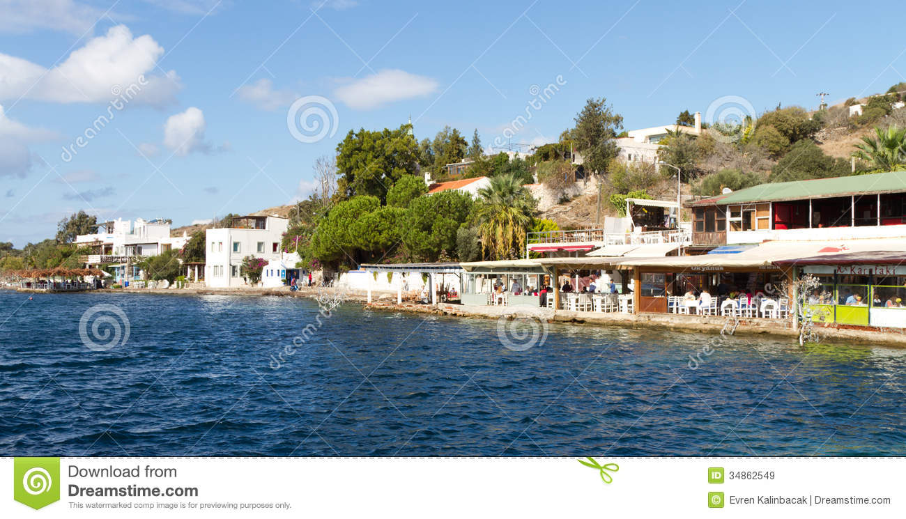 Gumusluk Turkey  City pictures : of Gumusluk village on October 18, 2013 in Mugla, Turkey. Gumusluk ...