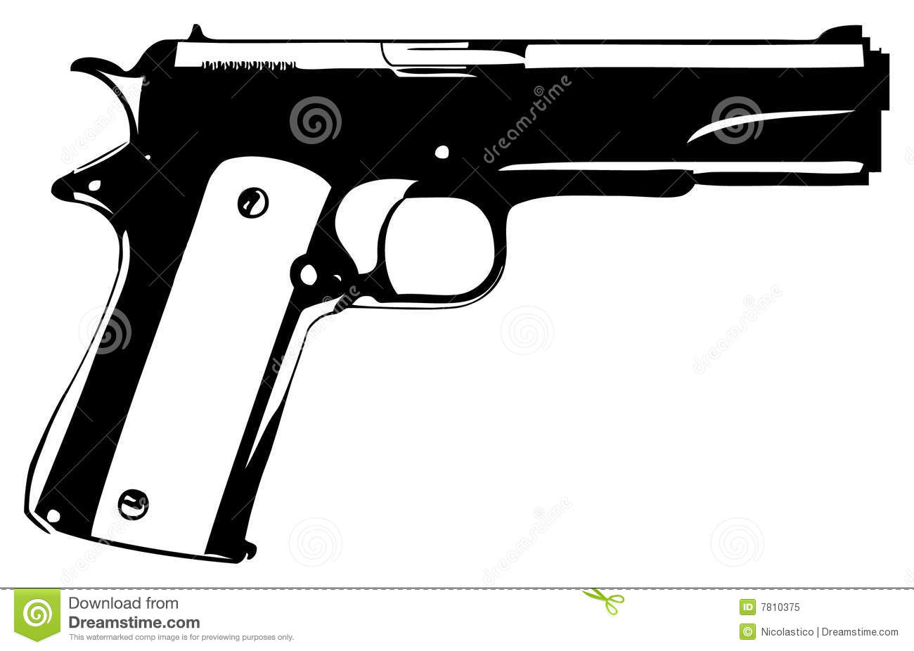 Gun Royalty Free Stock Photo - Image: 7810375