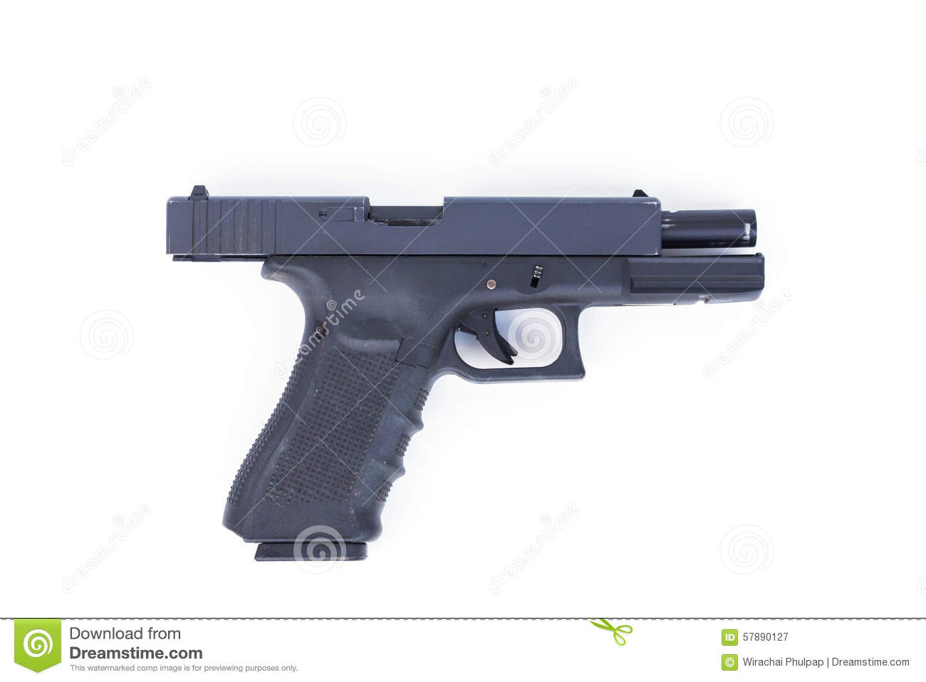 gun white background - photo #19