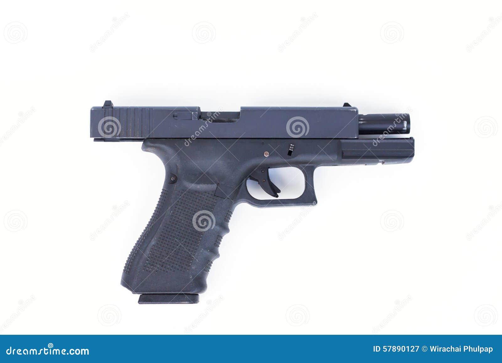 gun white background - photo #19
