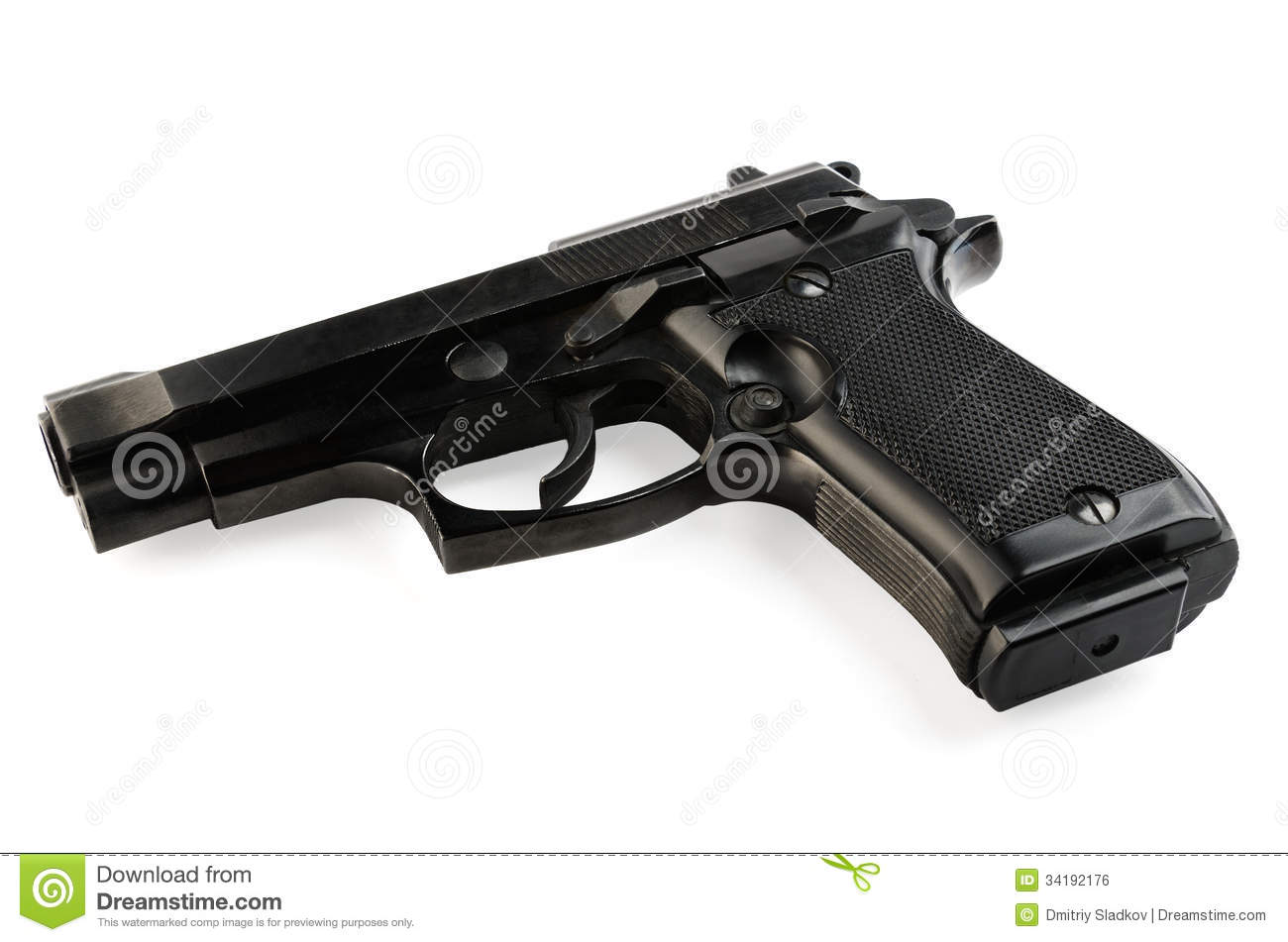 gun white background - photo #14