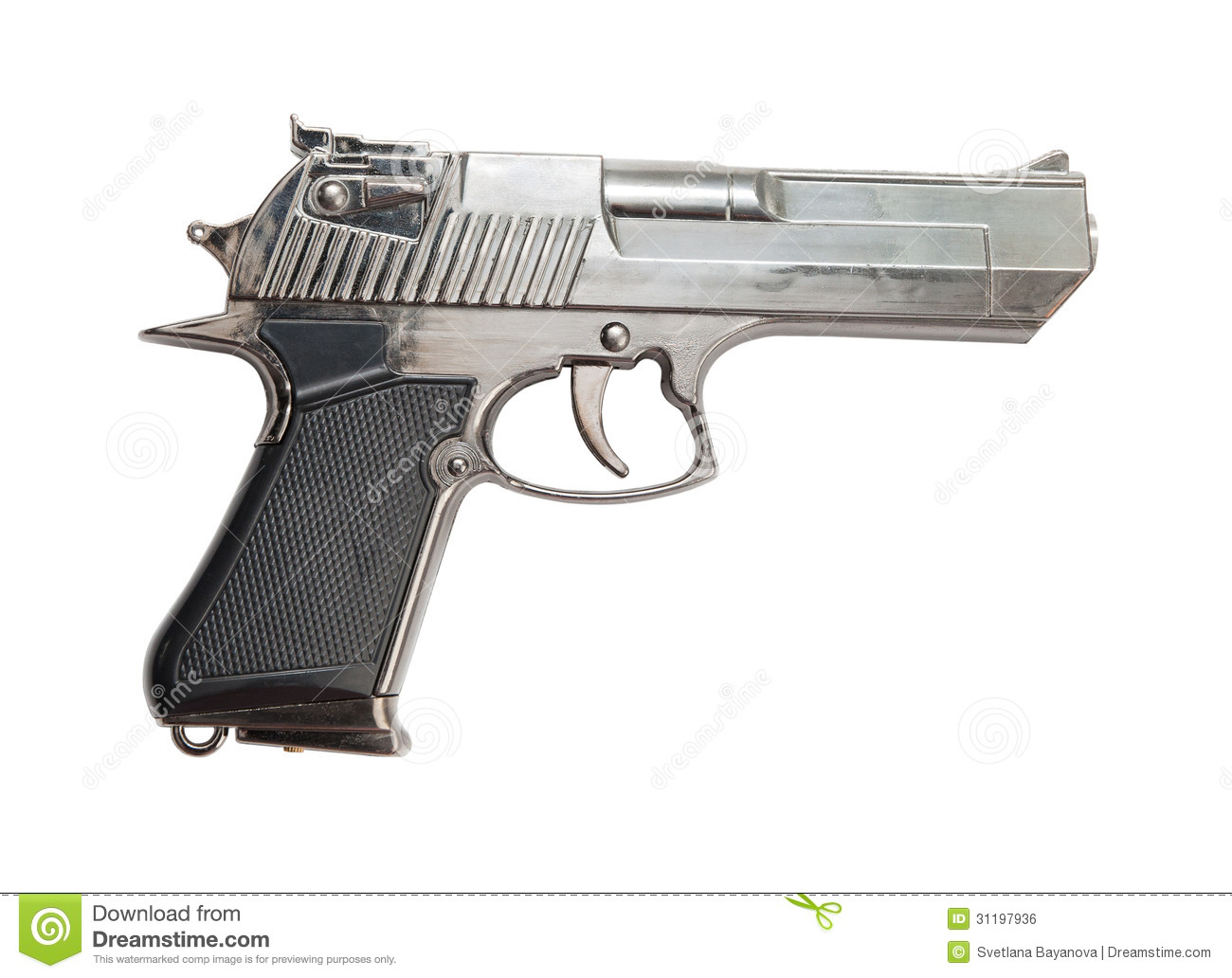 gun white background - photo #13