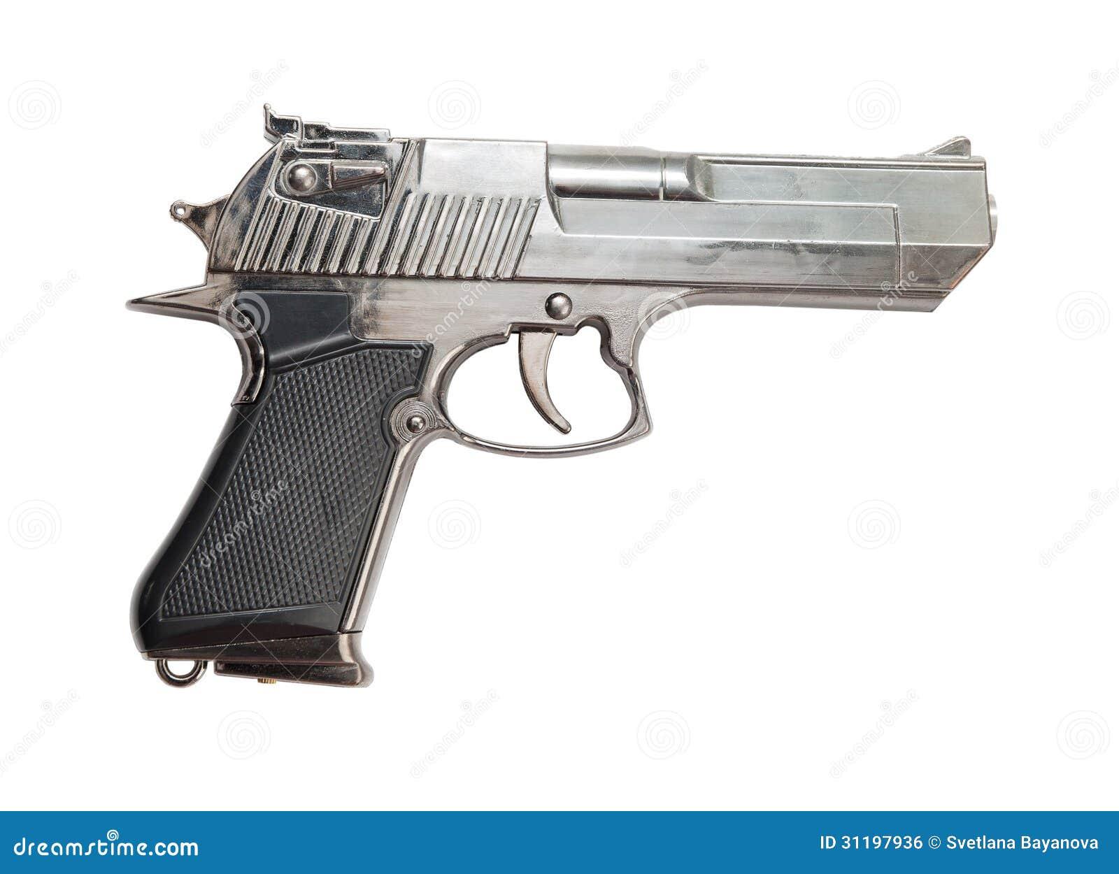 gun white background - photo #13