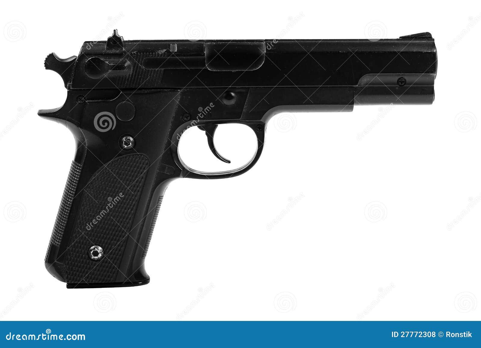 gun white background - photo #5