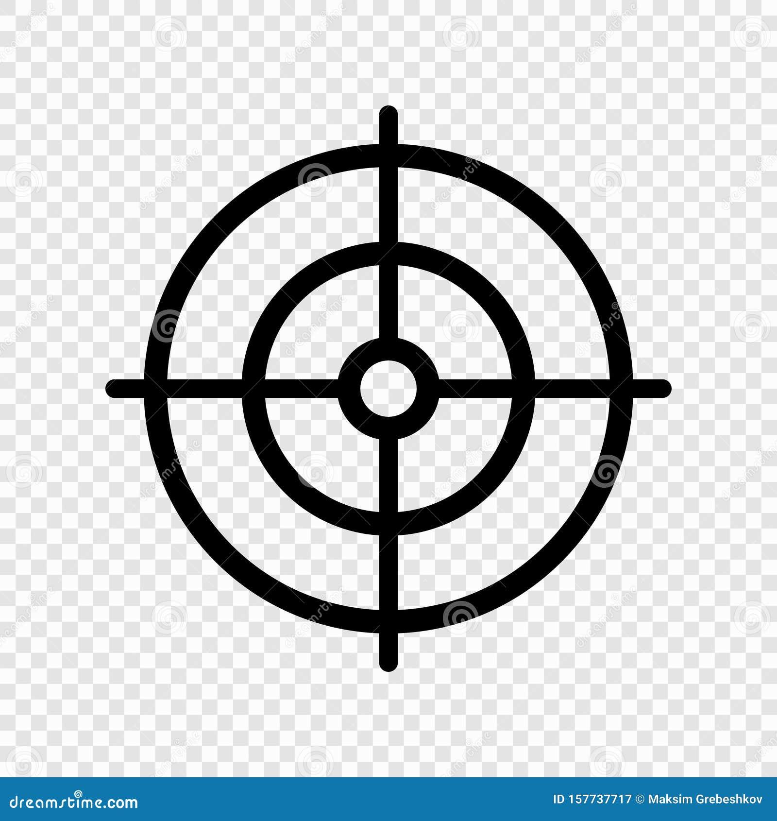 Gun target icon