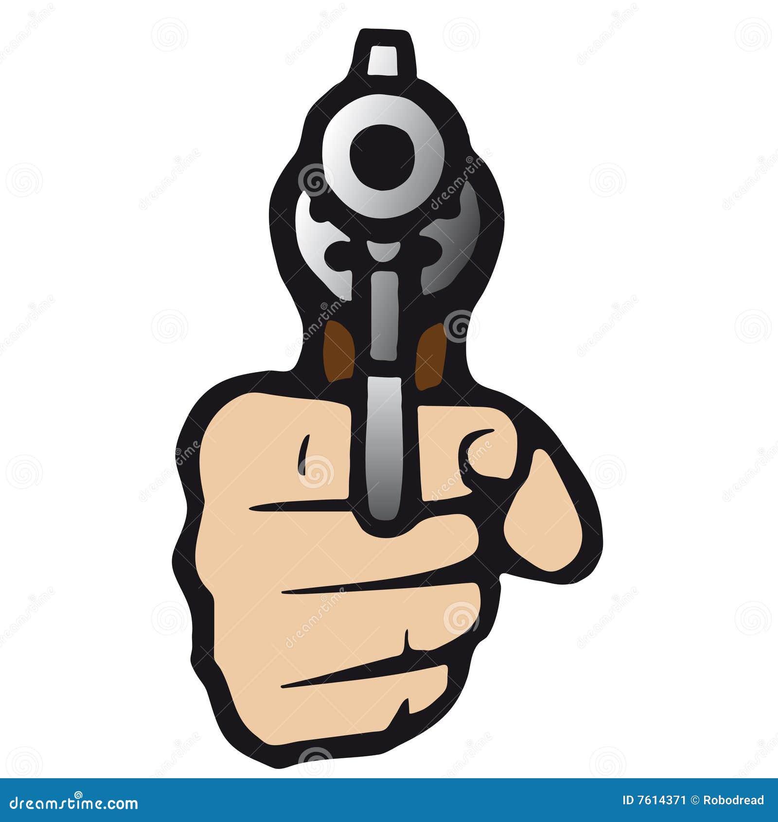 Gun (vector) Stock Image - Image: 7614371