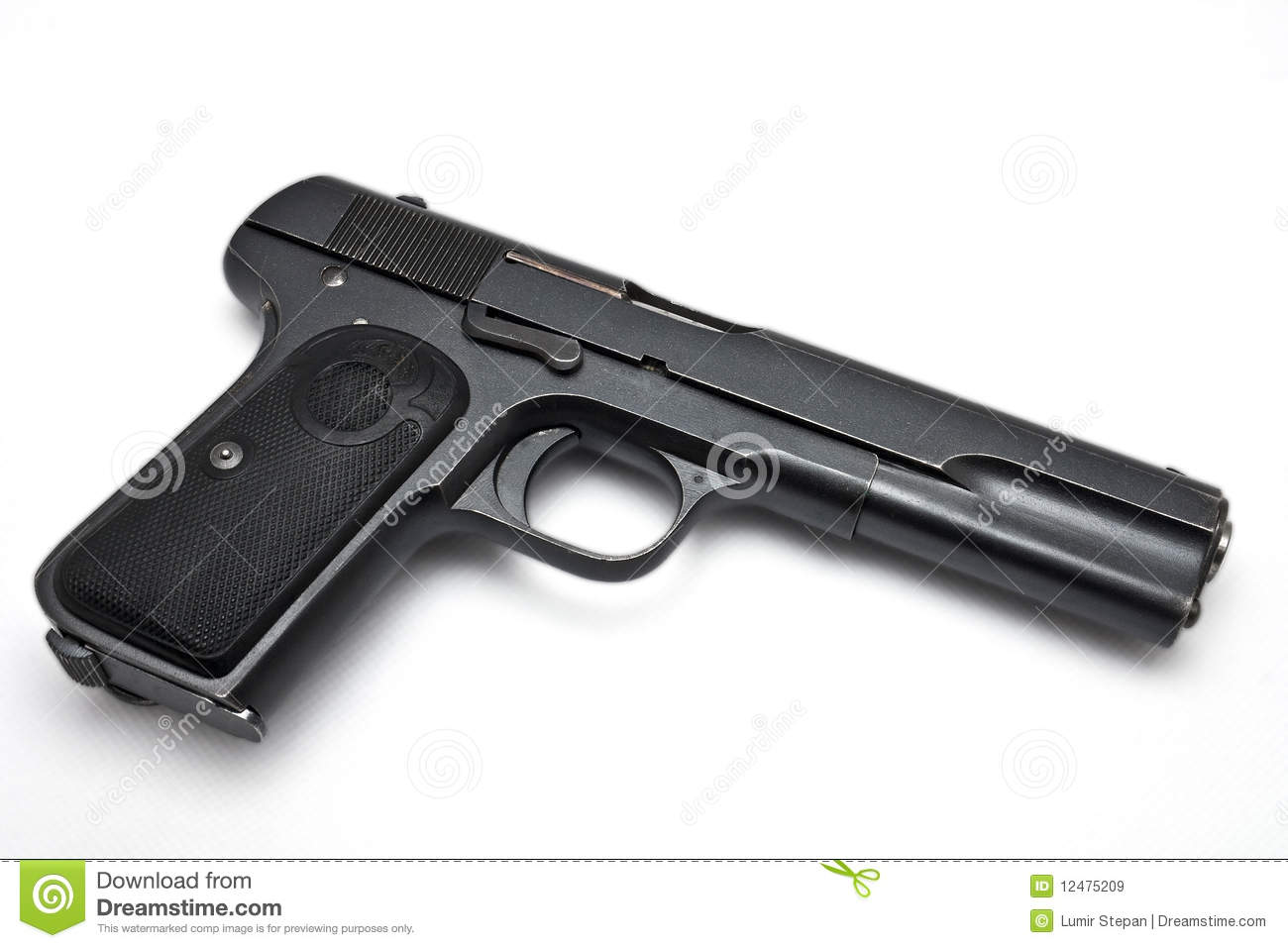 gun white background - photo #11