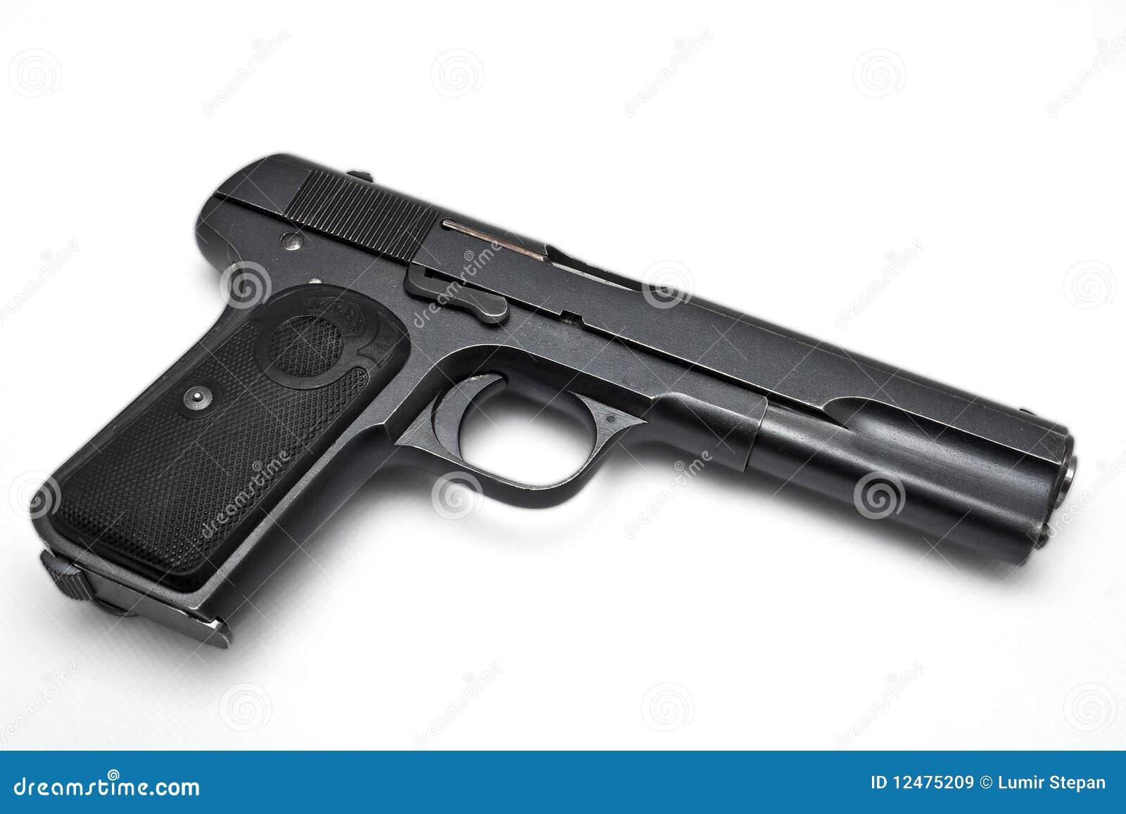 gun white background - photo #11