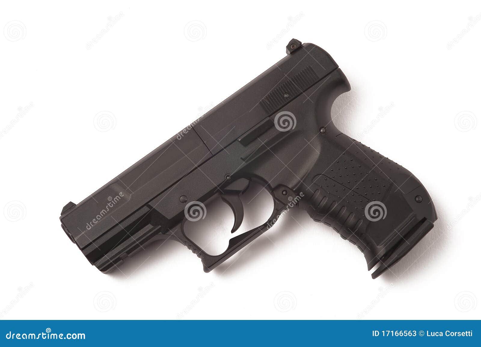 gun white background - photo #8
