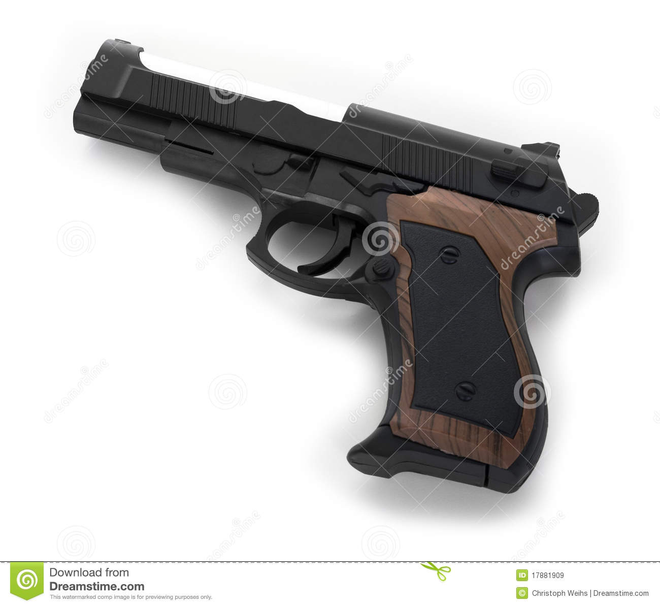 gun white background - photo #4