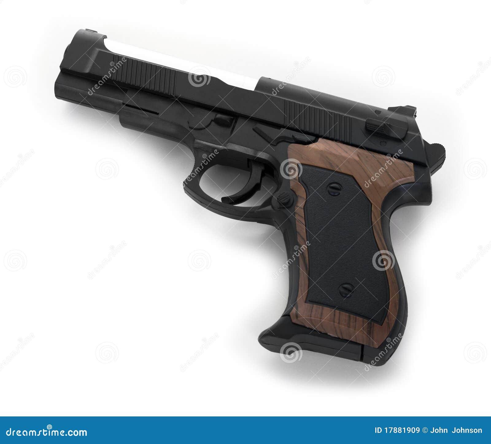 gun white background - photo #4