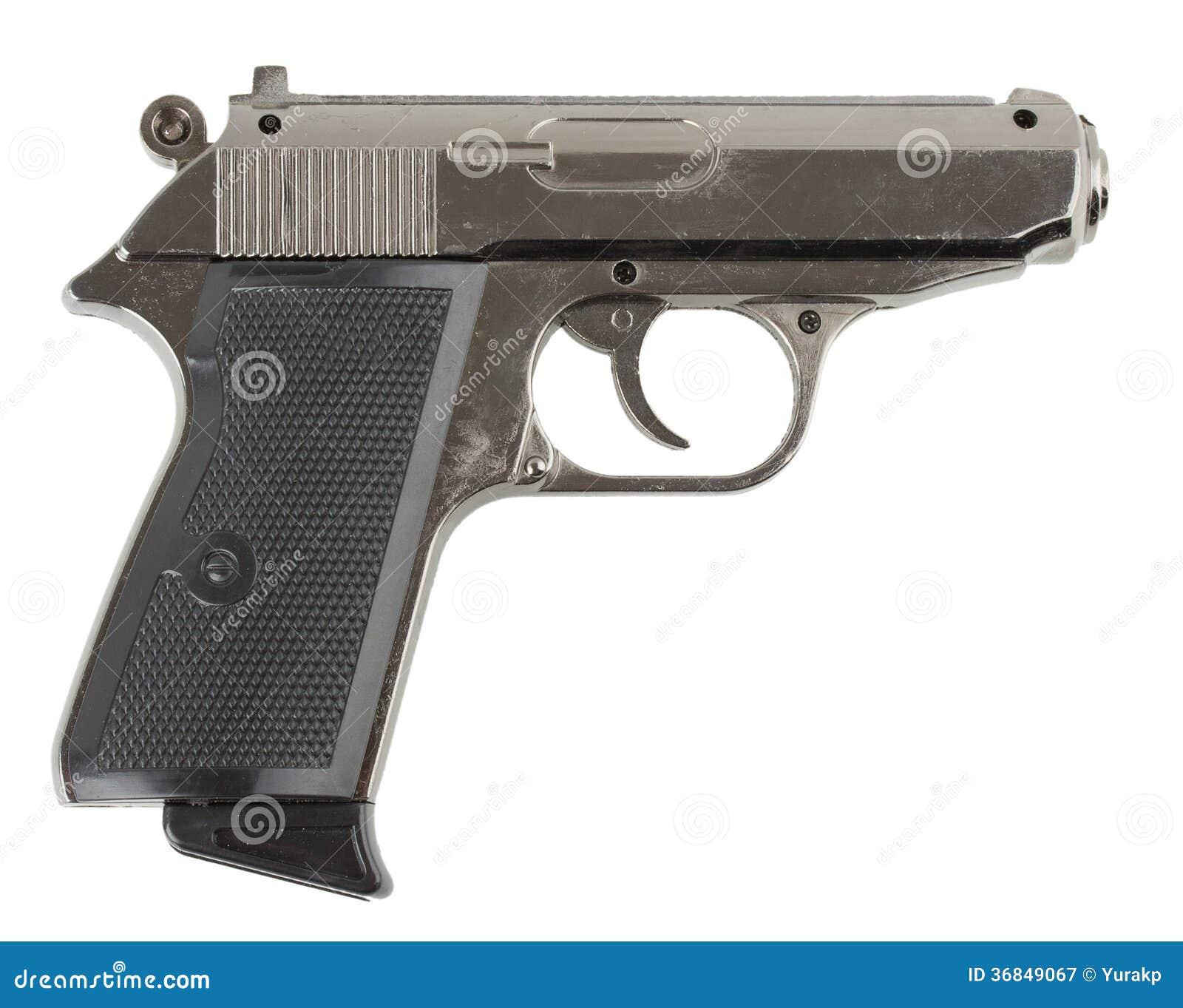 gun white background - photo #6