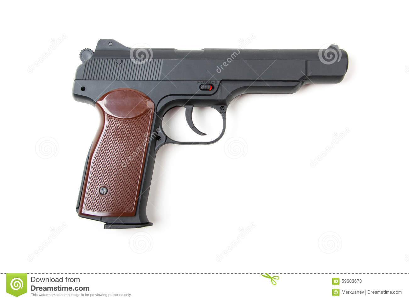 gun white background - photo #30
