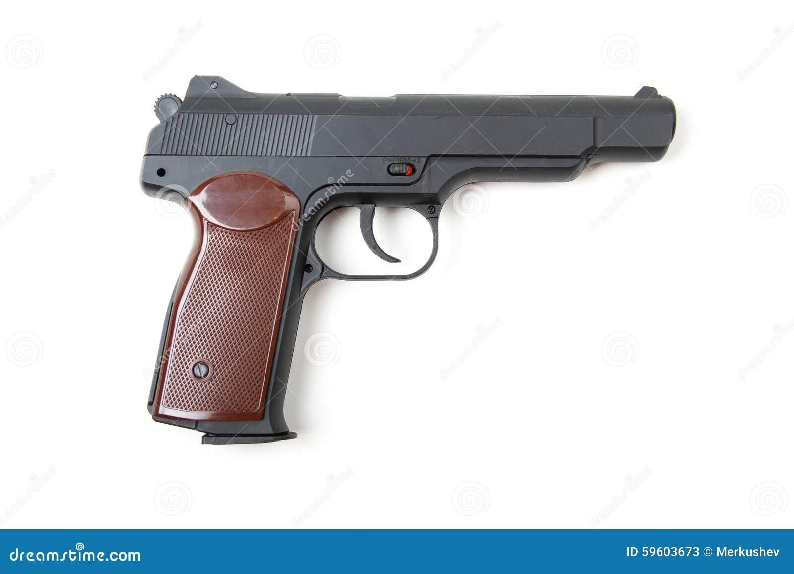 gun white background - photo #30