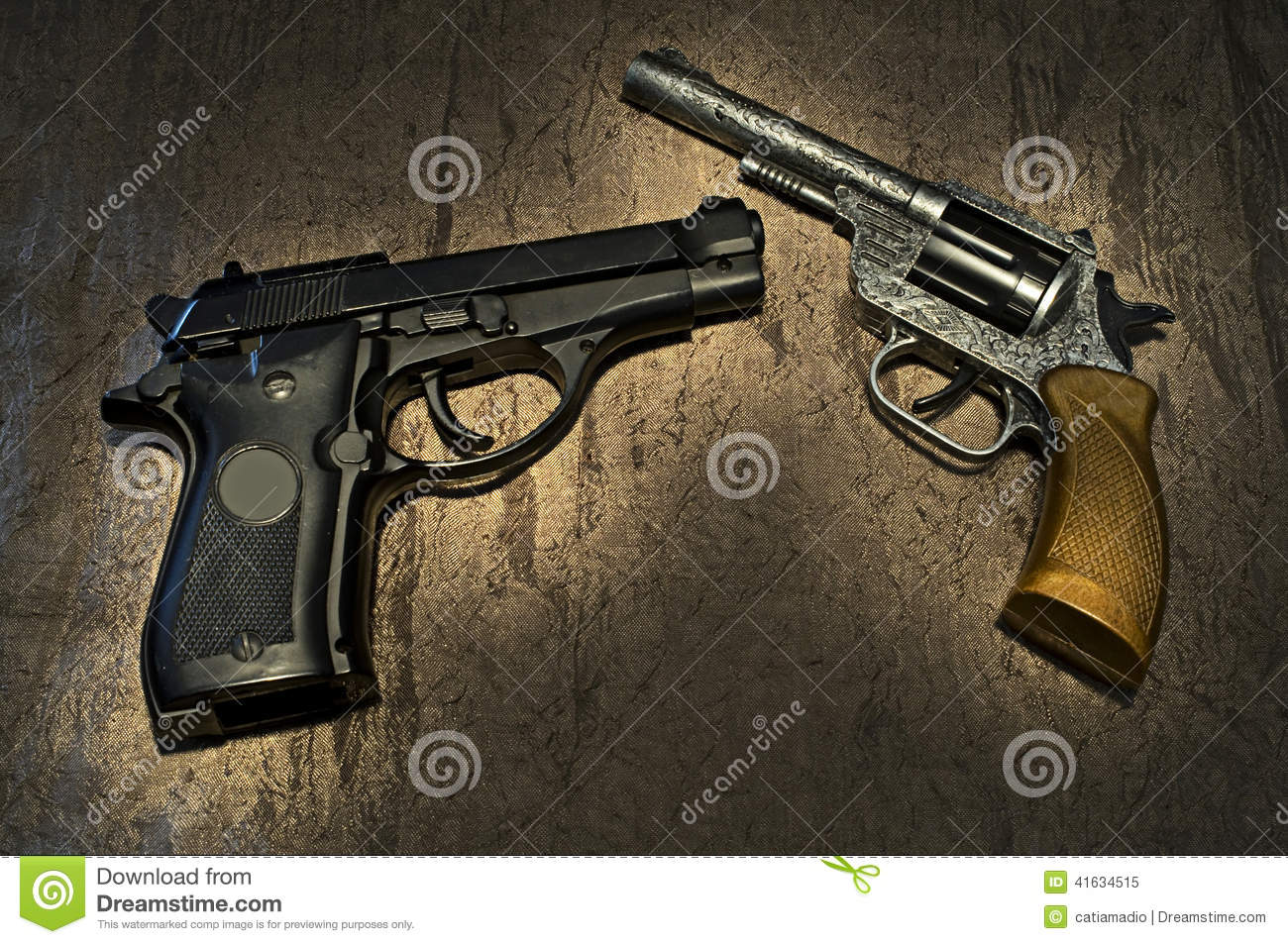Guns Background Stock Photo - Image: 41634515