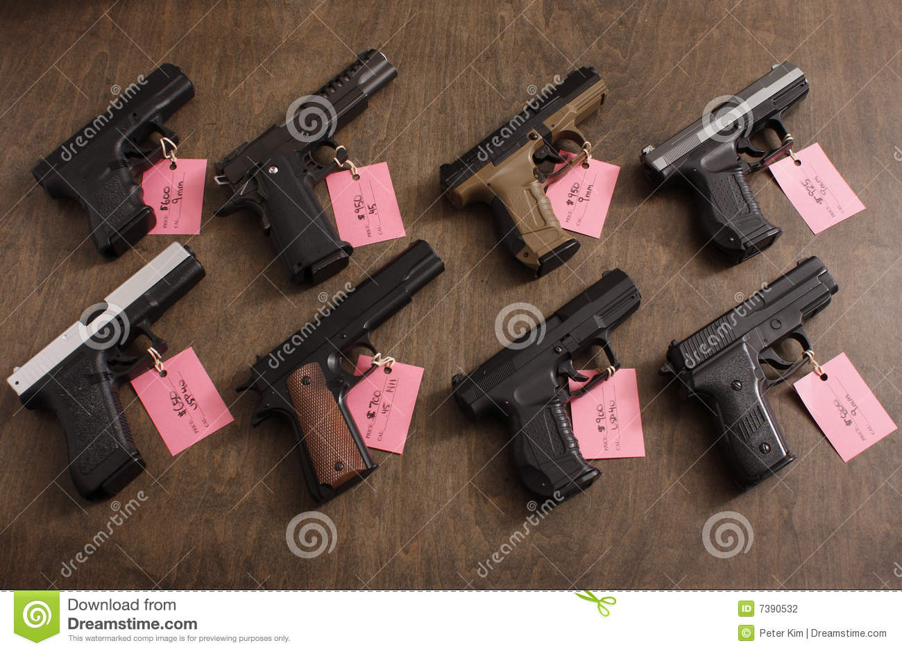 Guns For Sale Stock Photography - Image: 7390532