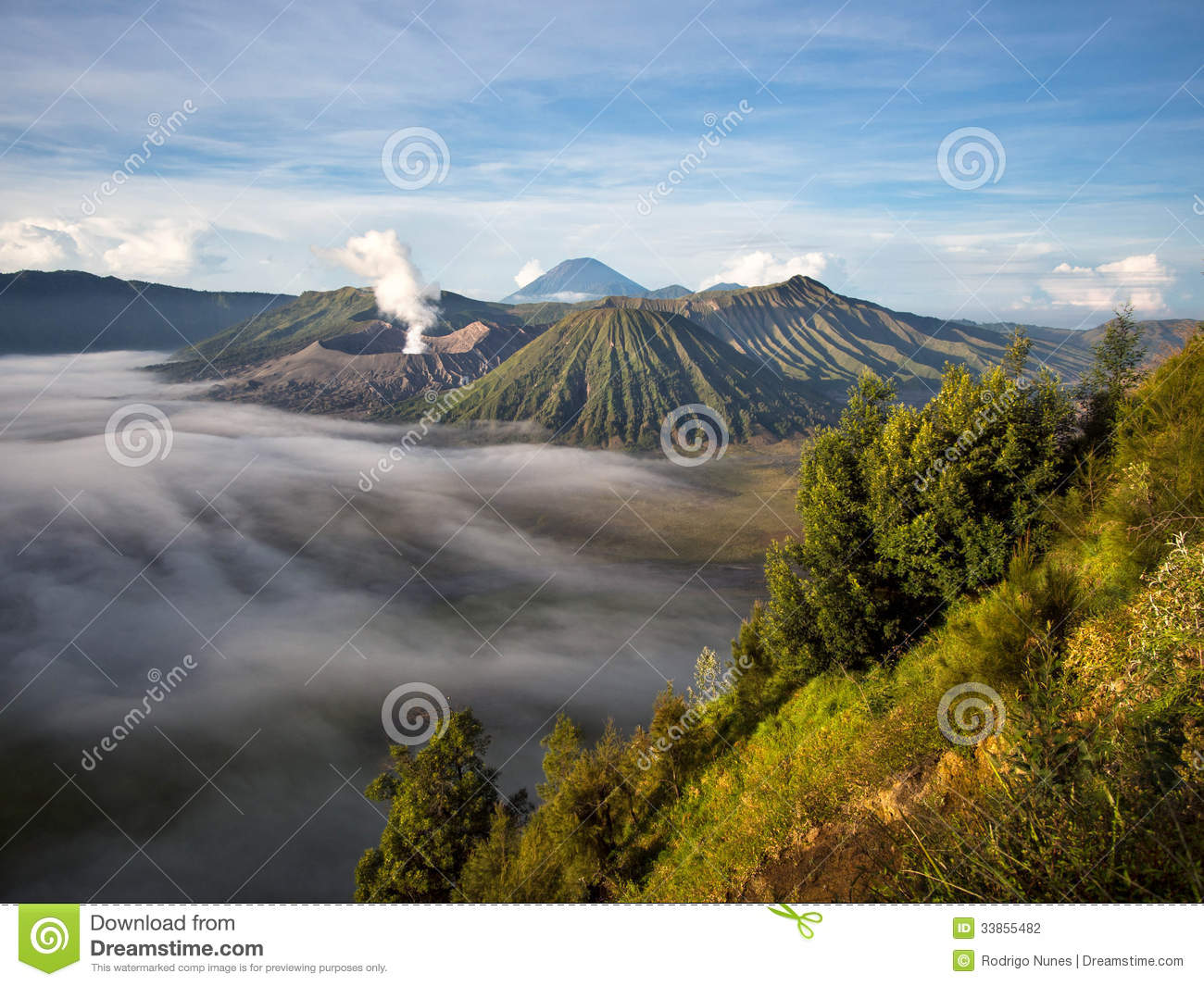 Gunung Bromo And Mount Penanjakan Java Indonesia YouTube ~ IDdrskata