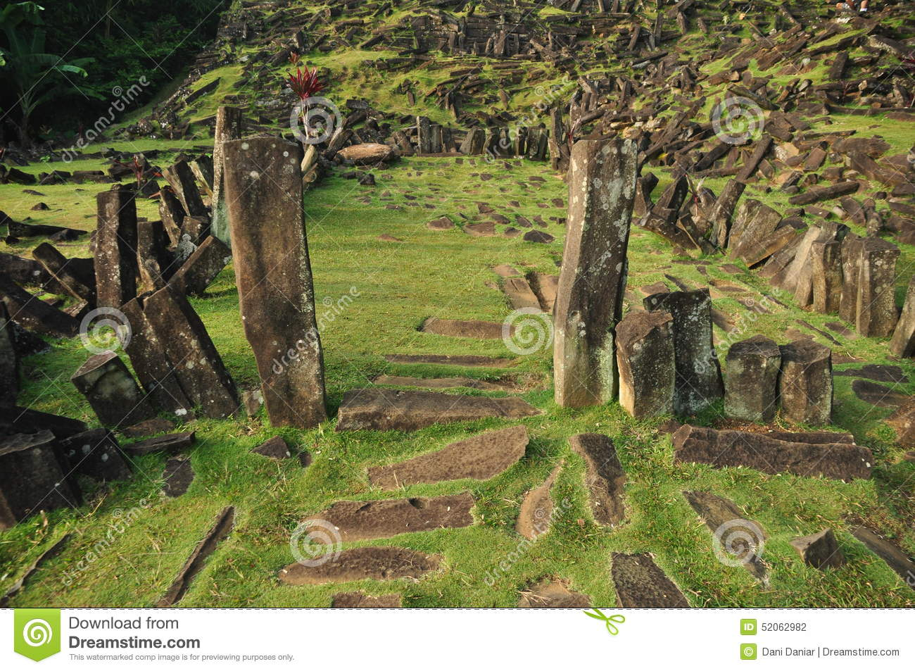 Gunung Padang Is A Megalithic Site Located In Karyamukti Village Cianjur Regency West Java Province Of Indonesia It Has Been Called The Largest