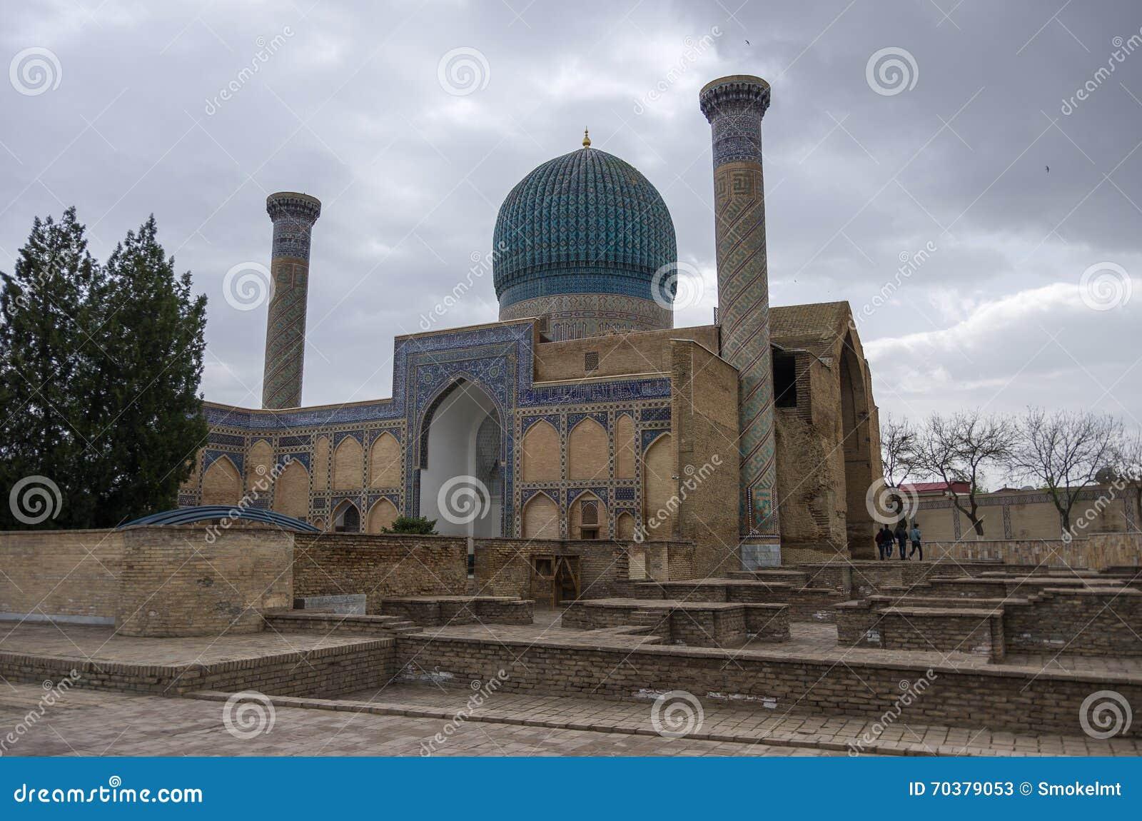 Gur emira mauzoleum Azjatycki pogromca Tamerlane (także znać