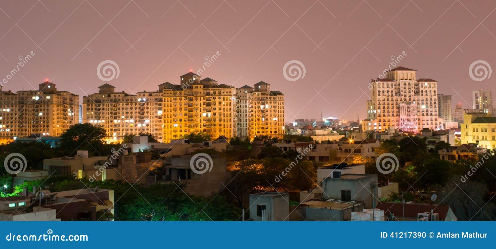 Gurgaon, orizzonte dell India