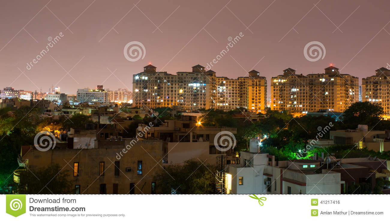 Gurgaon, orizzonte dell India