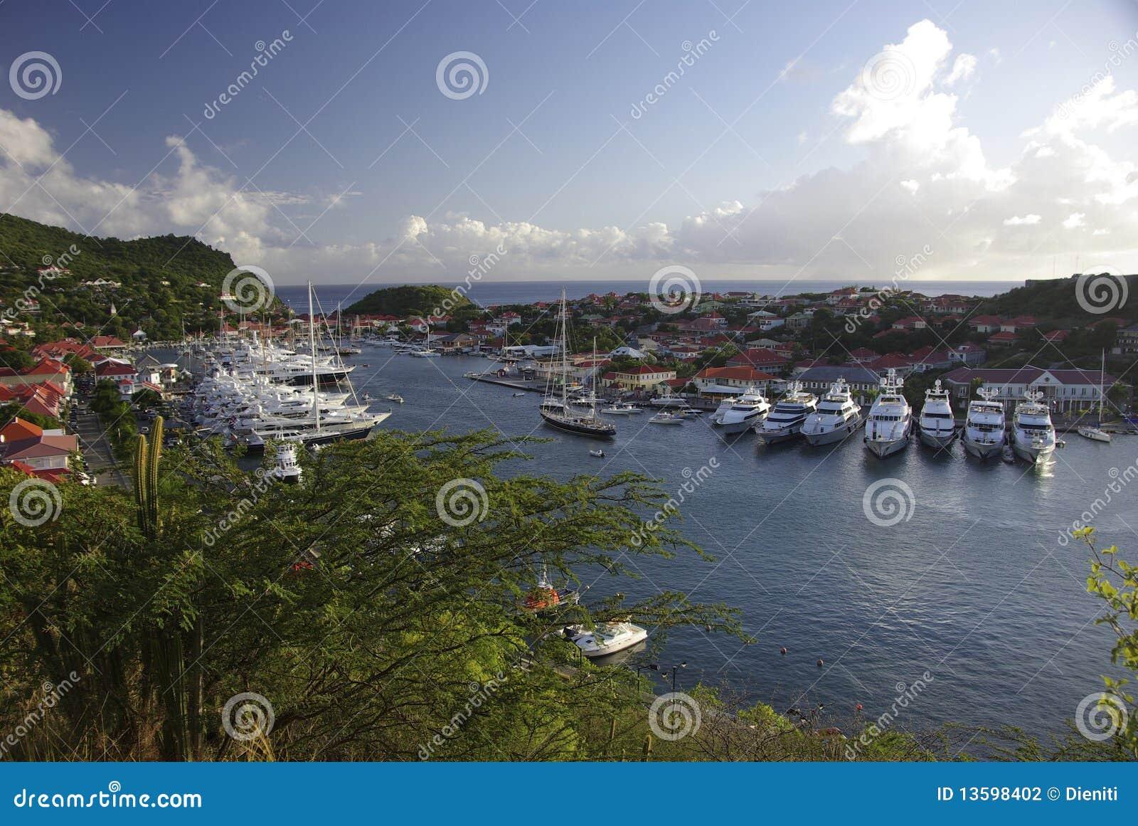 Gustavia Hafen