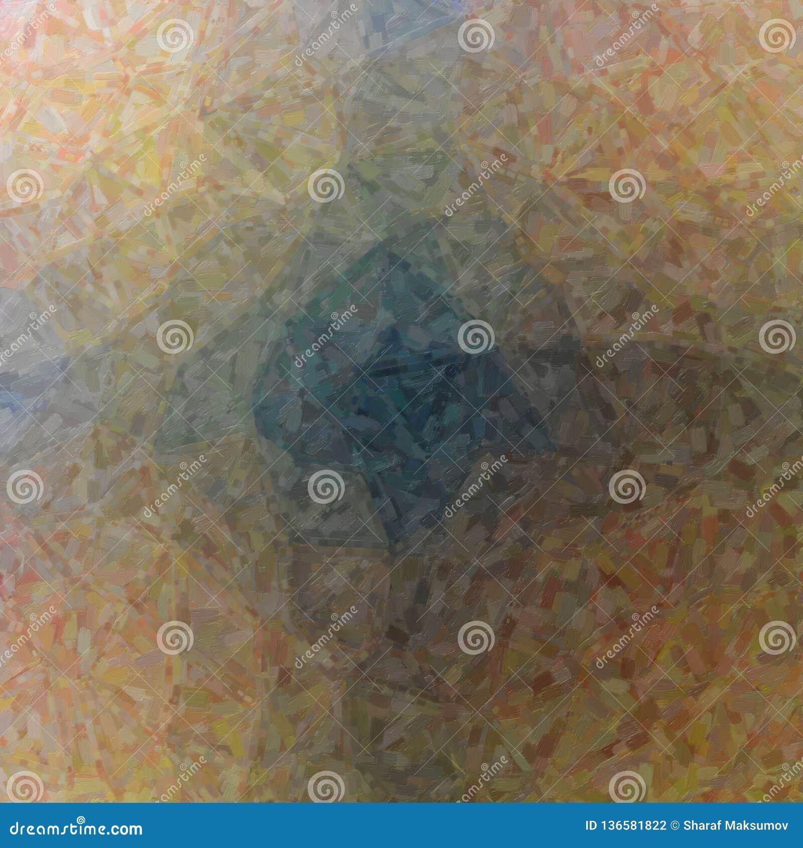 Gute abstrakte Illustration des braunen Impressionist-Ölgemäldes Guter Hintergrund für Ihren Bedarf