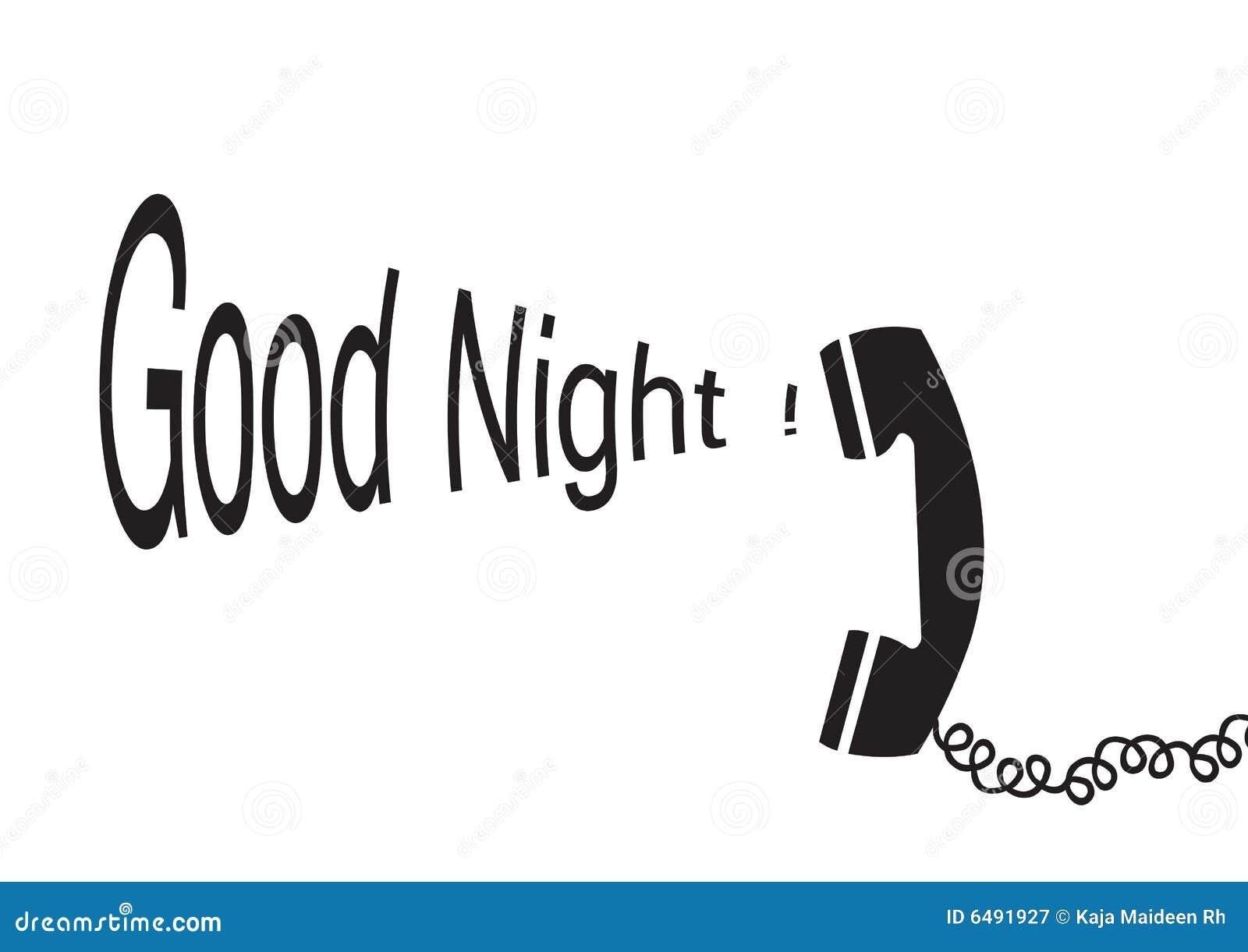 Gute Nacht - Vektor