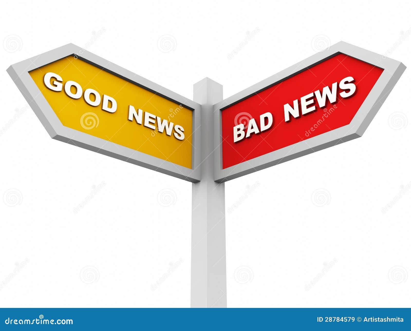 Gute oder falsche Nachrichten