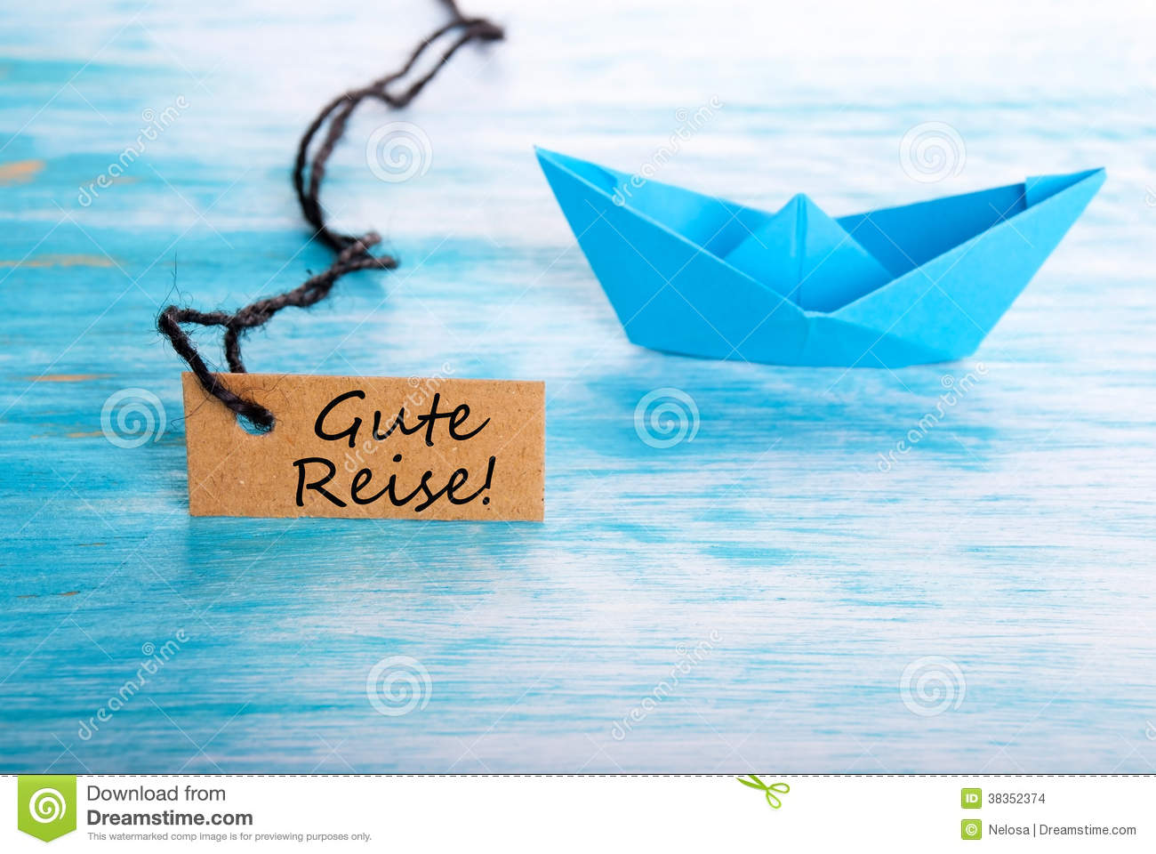 Gute Reise Tag Stock Images Image 38352374