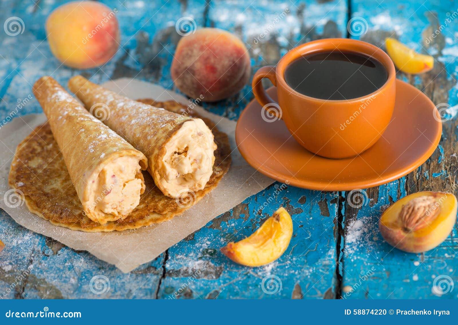 Guten Morgen Haben Sie Einen Schönen Tag Ein Tasse Kaffee